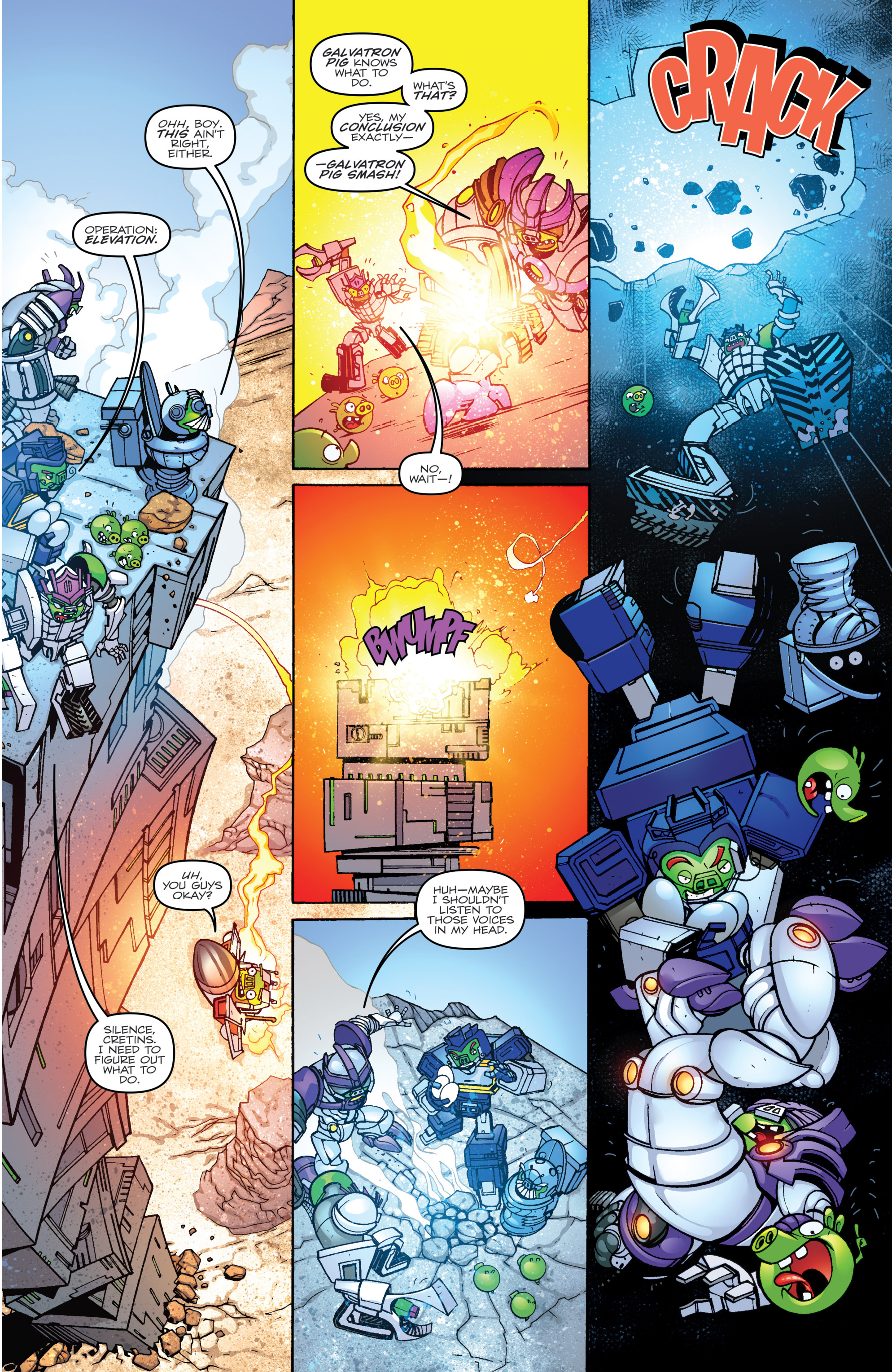 Read online Angry Birds Transformers comic -  Issue #2 - 11