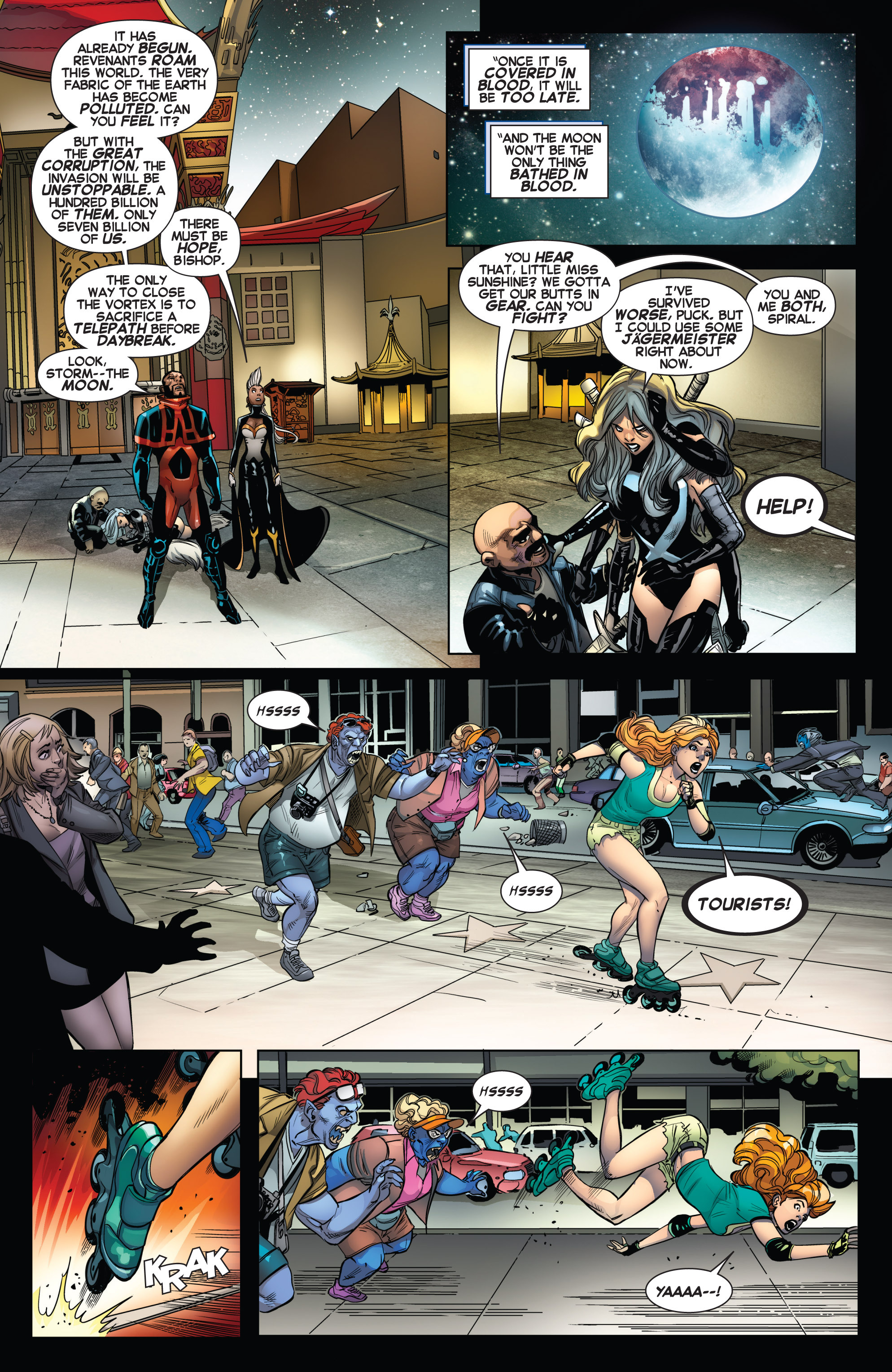 Read online Uncanny X-Force (2013) comic -  Issue #14 - 7