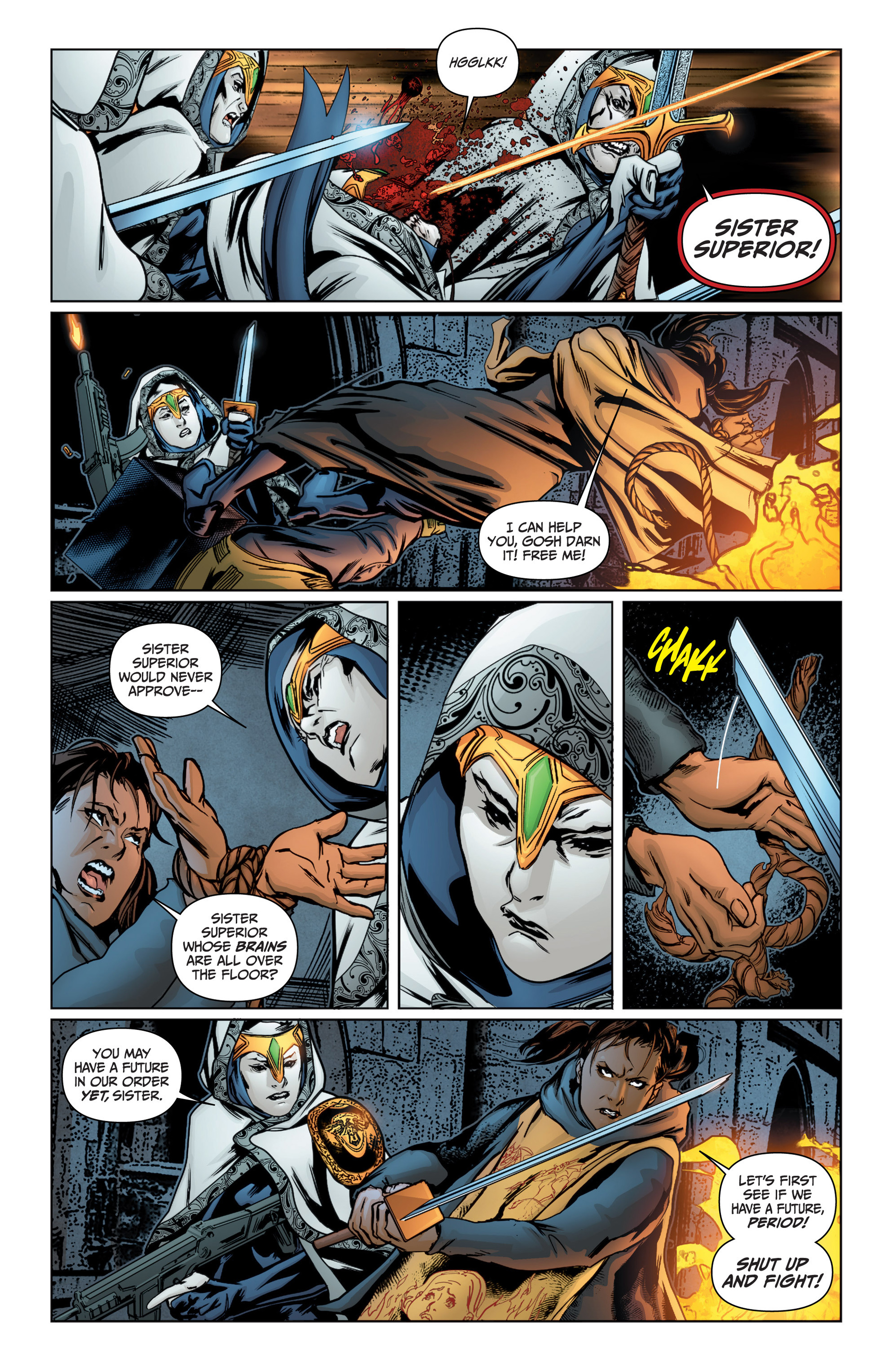 Read online Archer and Armstrong comic -  Issue #16 - 9
