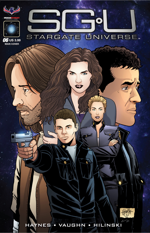 Stargate Universe 6 Page 1