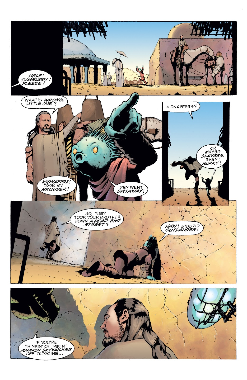 Read online Star Wars Legends: Rise of the Sith - Epic Collection comic -  Issue # TPB 2 (Part 5) - 4