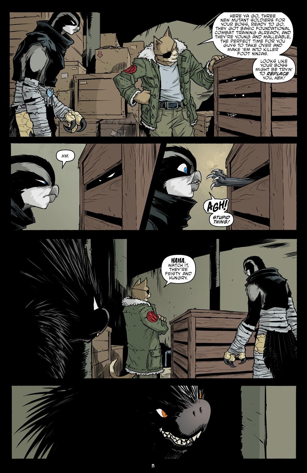 Read online Teenage Mutant Ninja Turtles (2011) comic -  Issue #102 - 17