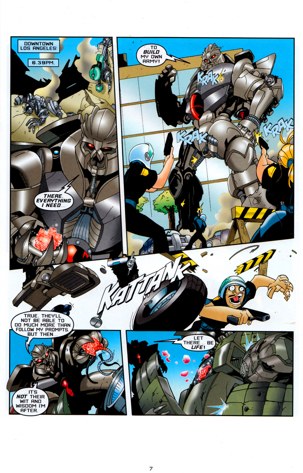 Read online Transformers: Saga of the Allspark comic -  Issue #4 - 10