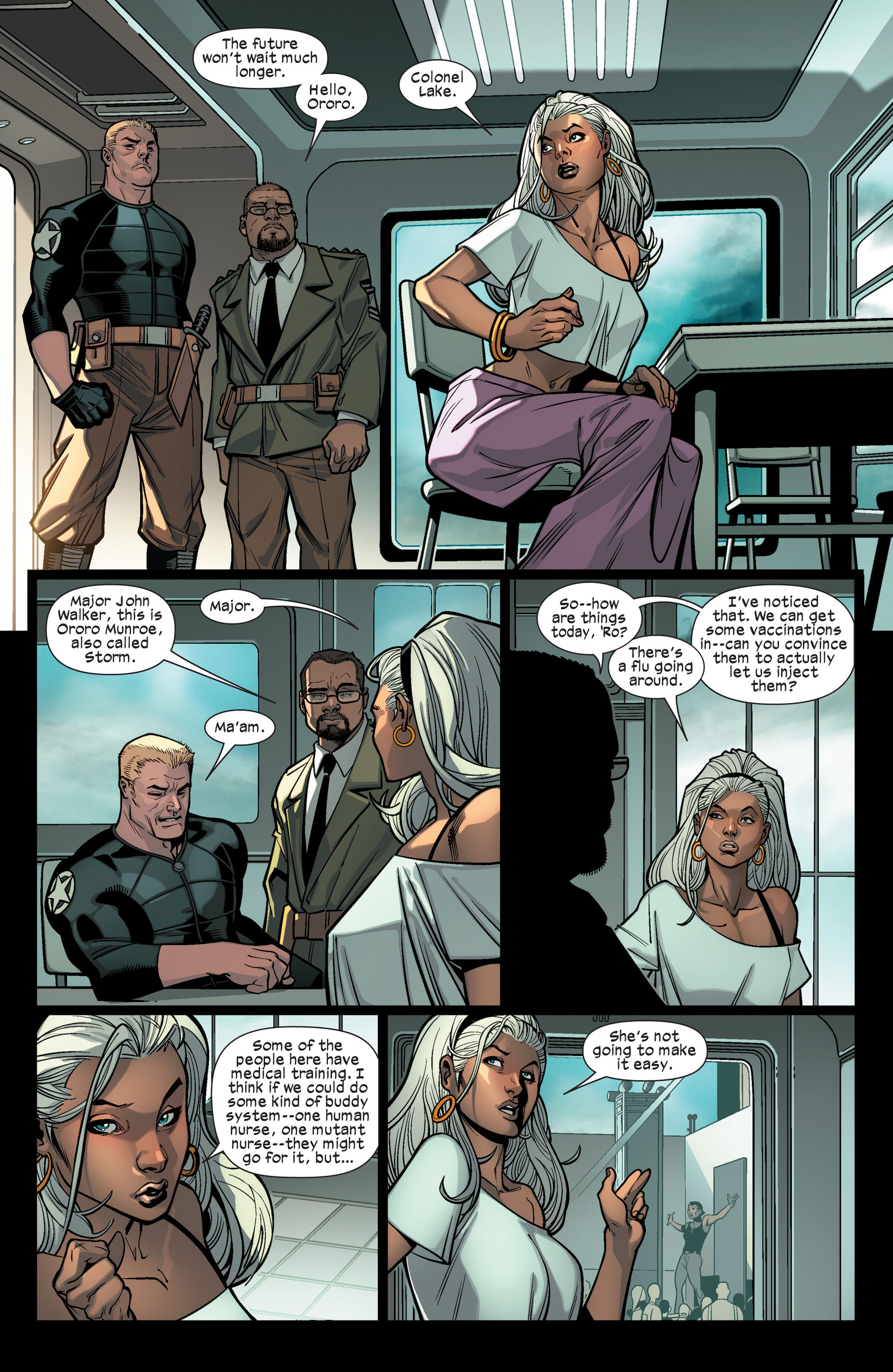 Read online Ultimate Comics X-Men comic -  Issue #9 - 8