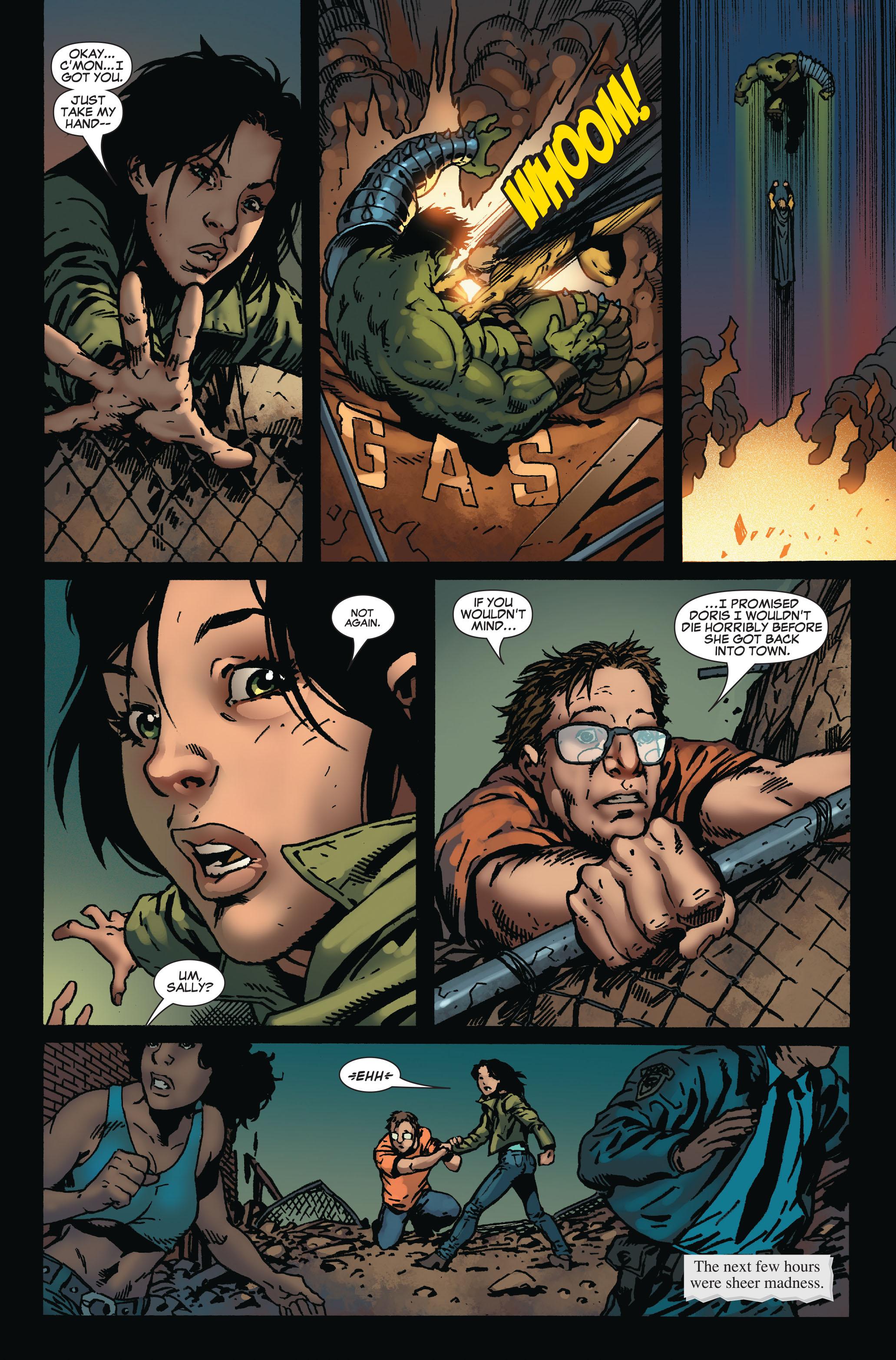Read online World War Hulk: Front Line comic -  Issue #6 - 5