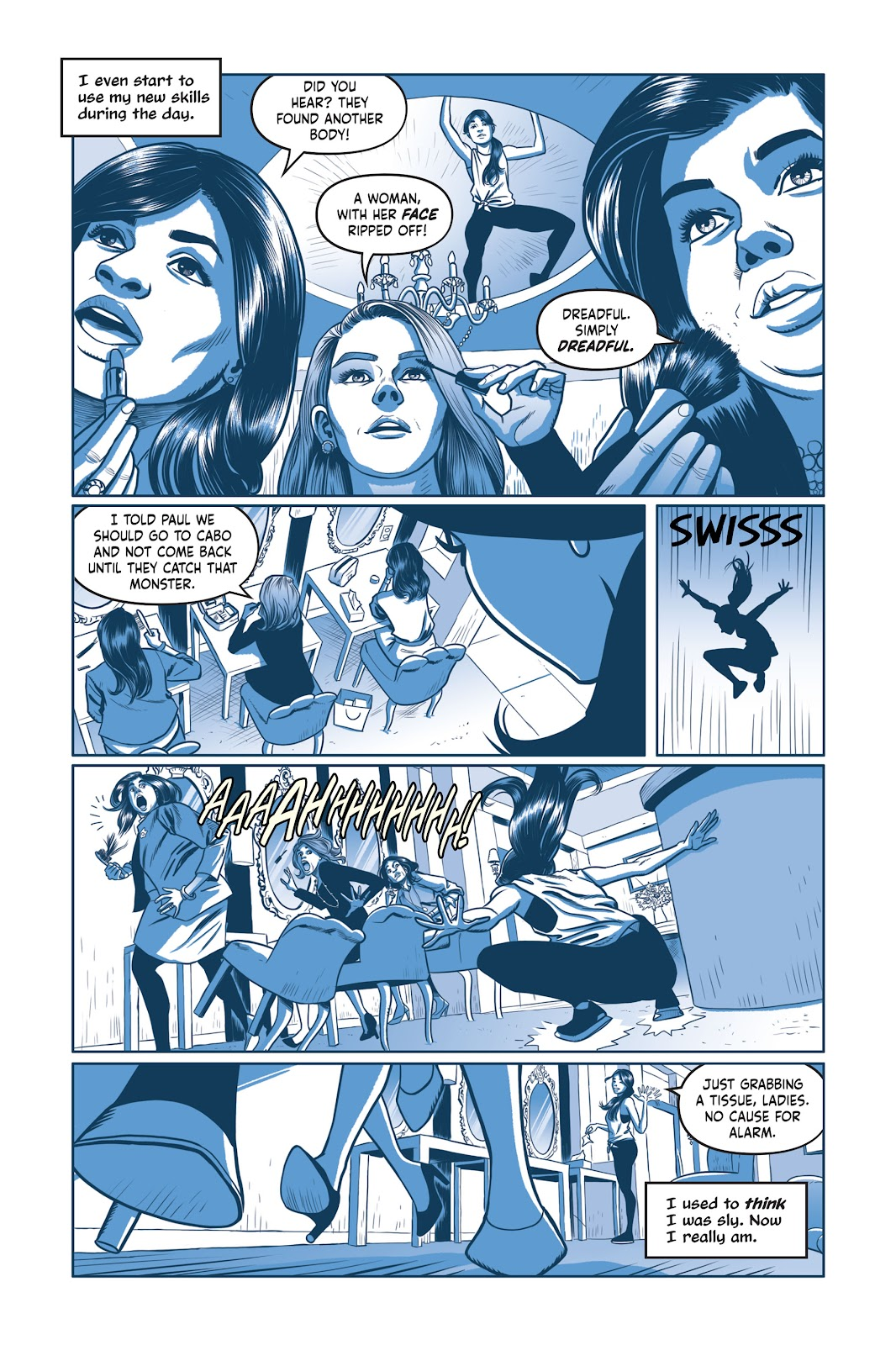 Read online Under the Moon: A Catwoman Tale comic -  Issue # TPB (Part 1) - 93