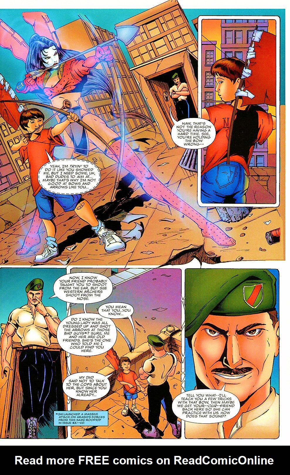Read online Shi: The Way of the Warrior comic -  Issue #7 - 15