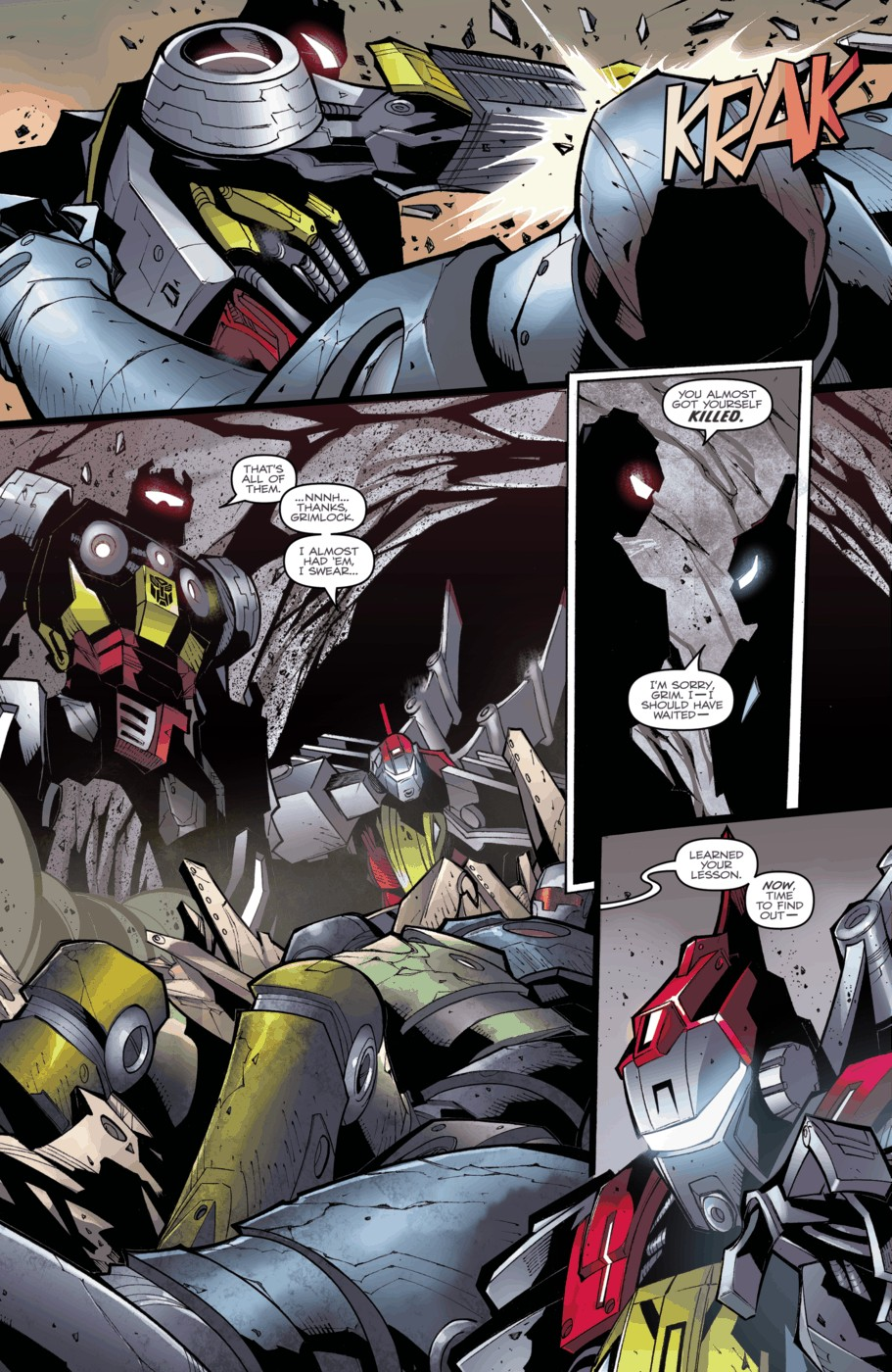Read online Transformers Prime: Beast Hunters comic -  Issue #3 - 10