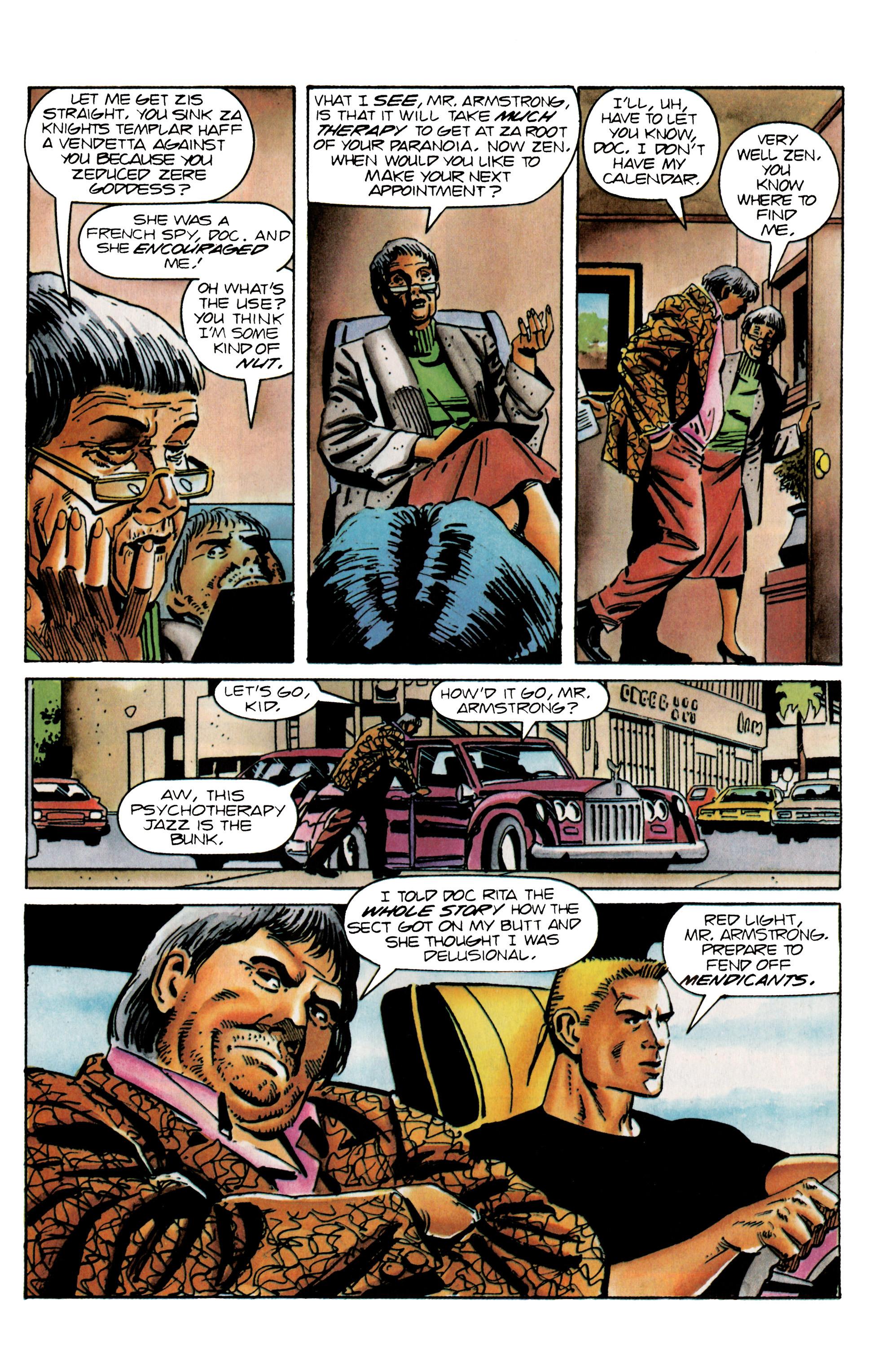 Read online Eternal Warrior (1992) comic -  Issue #25 - 21