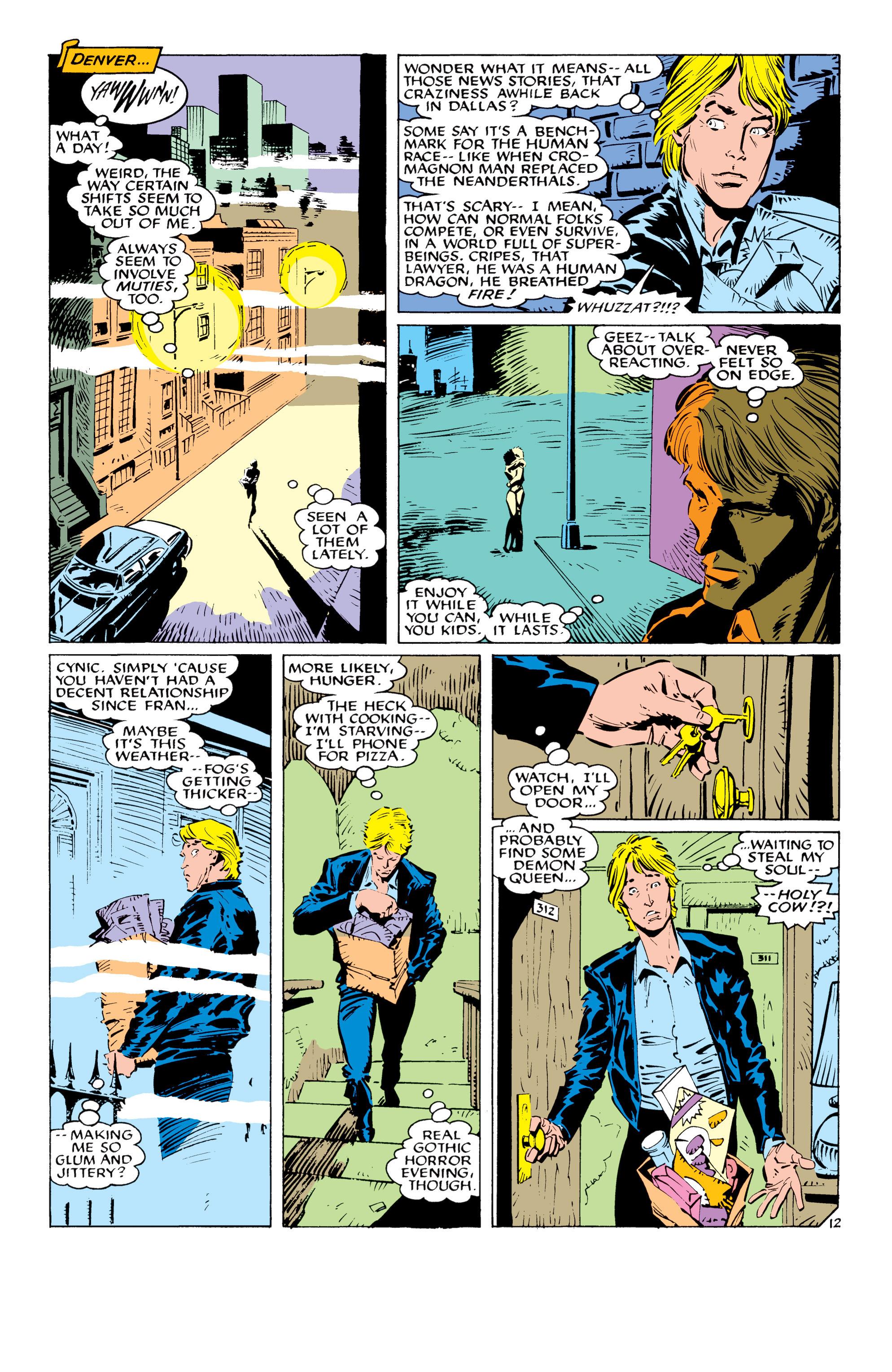 Read online Uncanny X-Men (1963) comic -  Issue #232 - 13