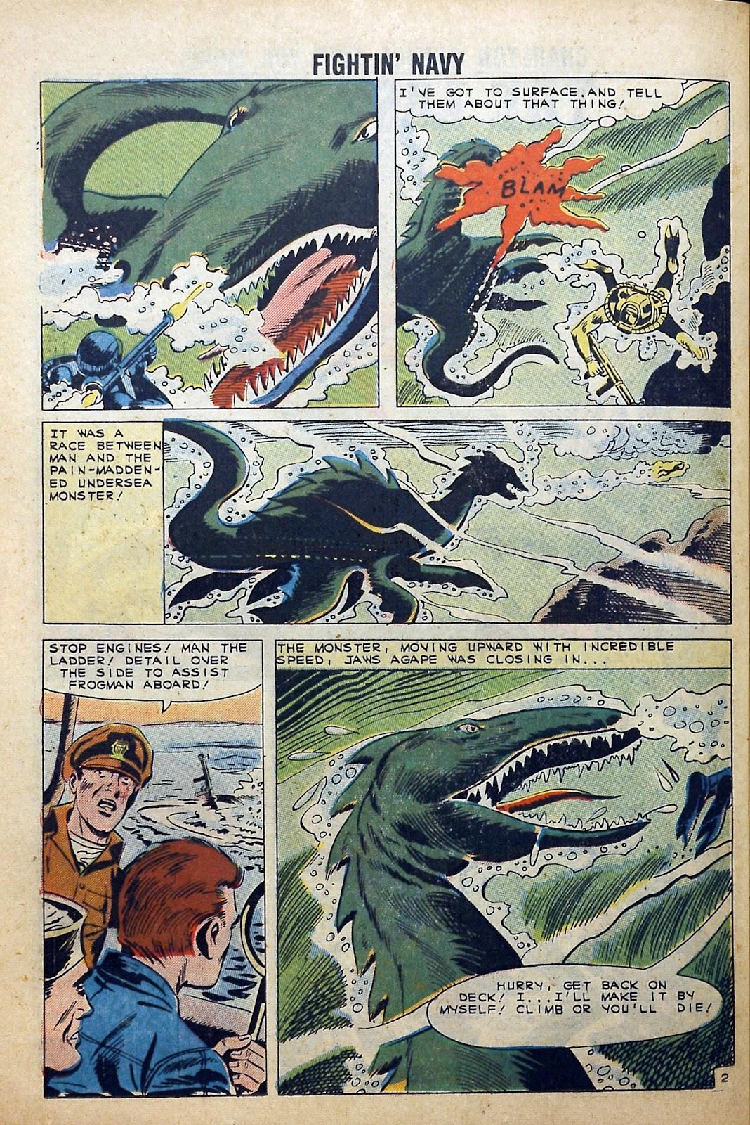 Read online Fightin' Navy comic -  Issue #99 - 26