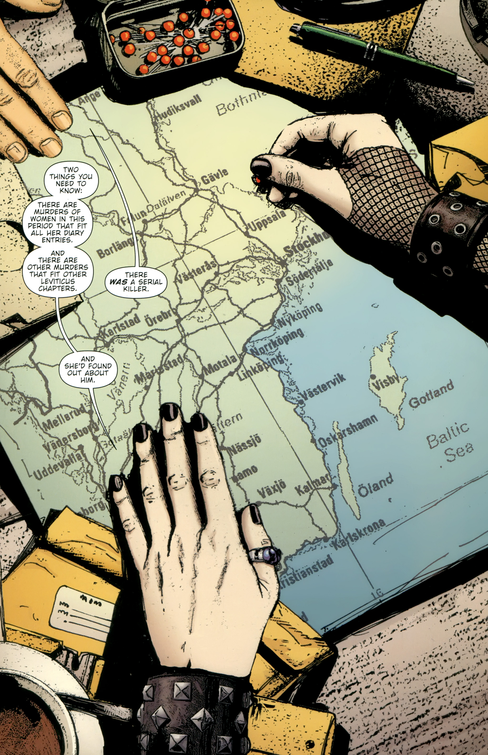 Read online The Girl With the Dragon Tattoo comic -  Issue # TPB 2 - 63
