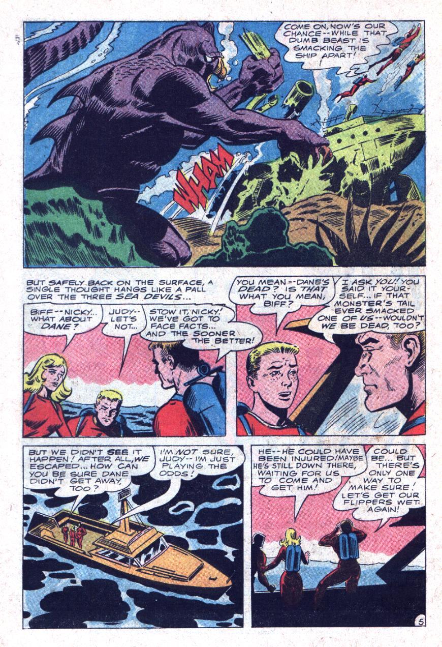 Read online Sea Devils comic -  Issue #35 - 9