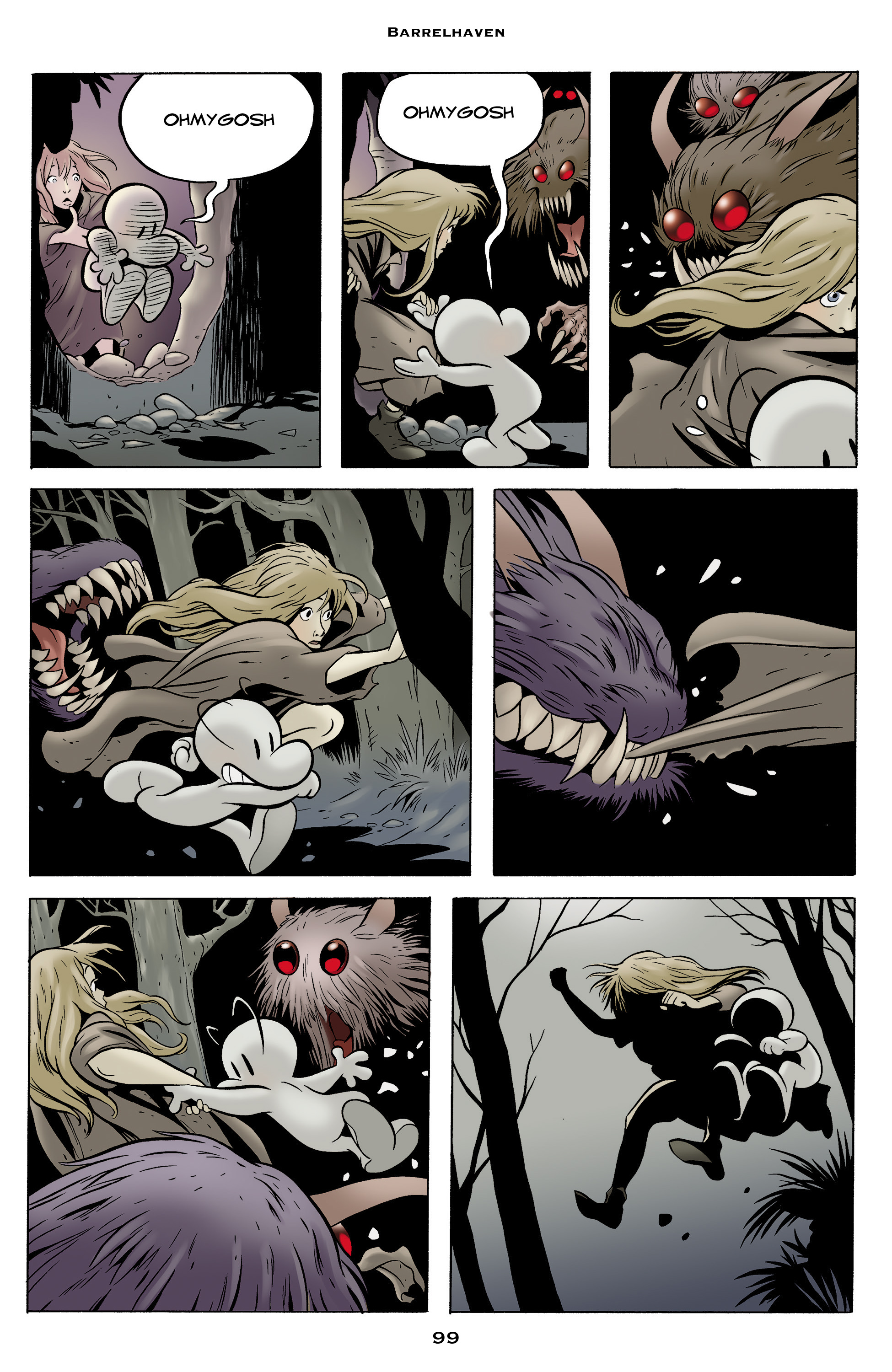 Read online Bone: Out From Boneville comic -  Issue # TPB - 99