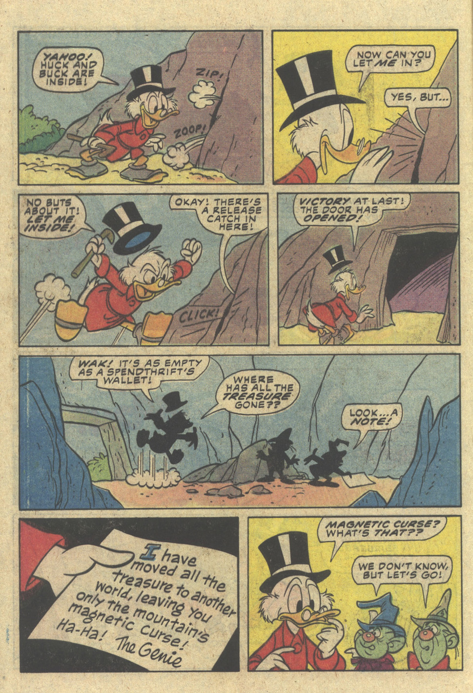 Read online Uncle Scrooge (1953) comic -  Issue #204 - 8