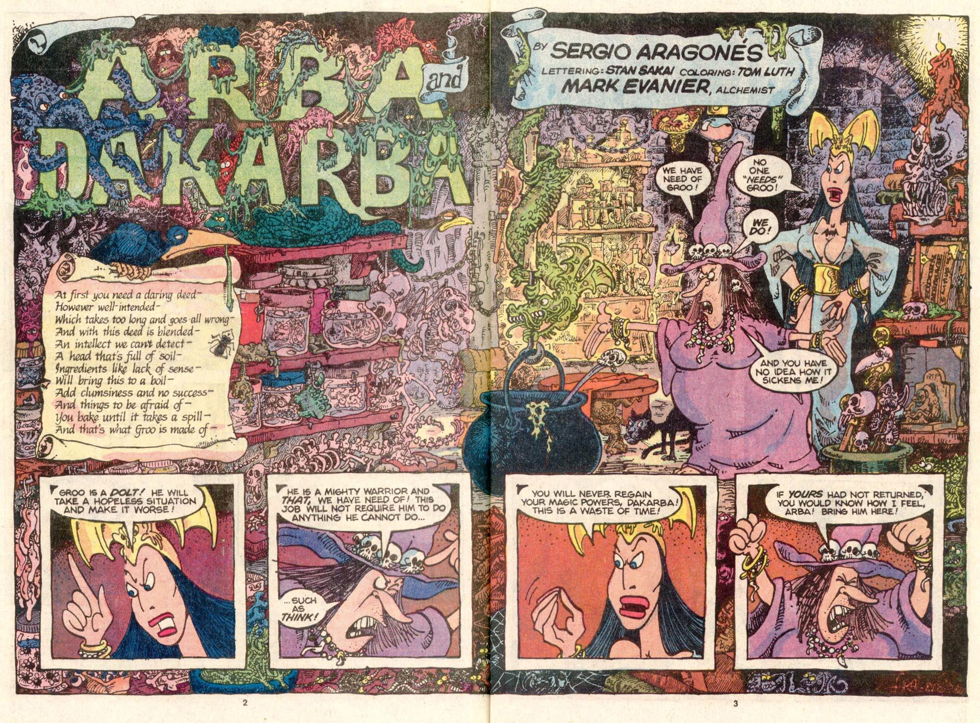 Read online Sergio Aragonés Groo the Wanderer comic -  Issue #26 - 3