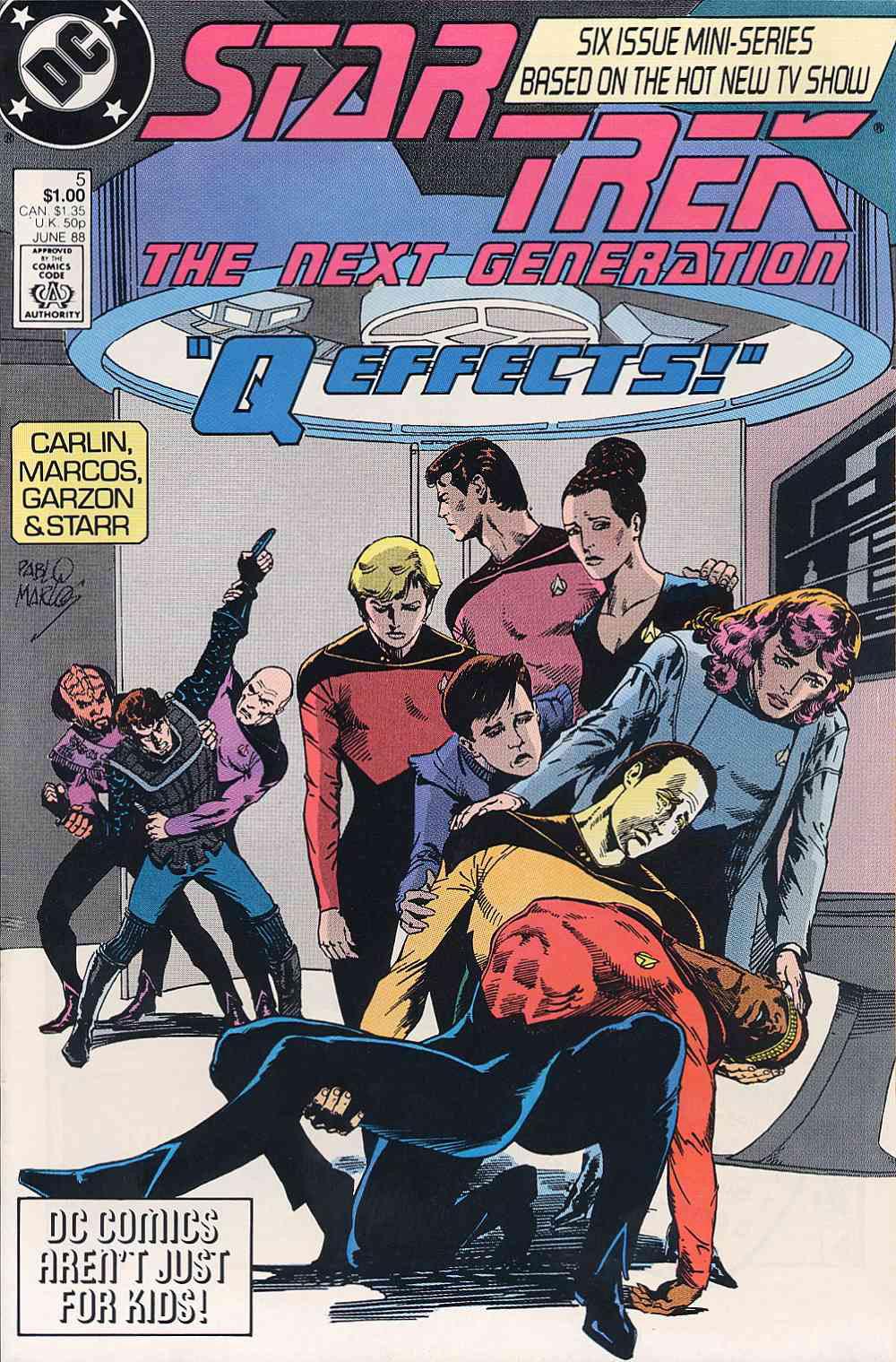 Star Trek: The Next Generation (1988) issue 5 - Page 1