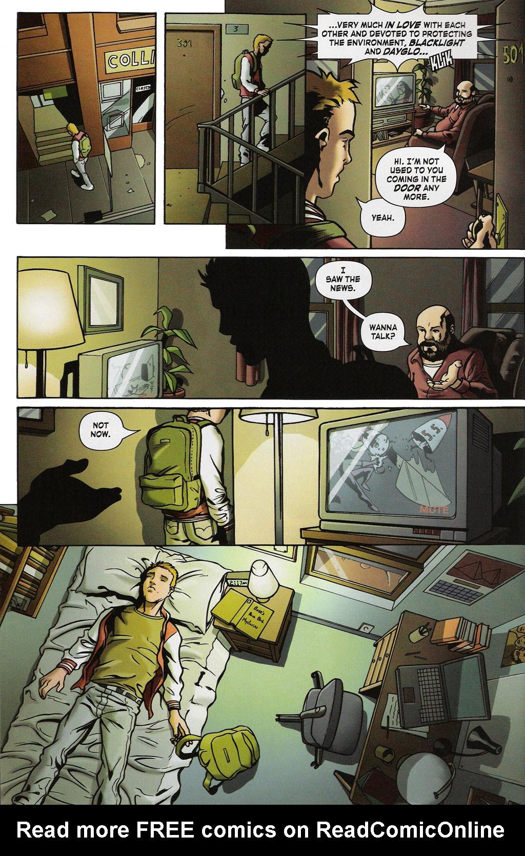 Read online ShadowHawk (2005) comic -  Issue #2 - 4