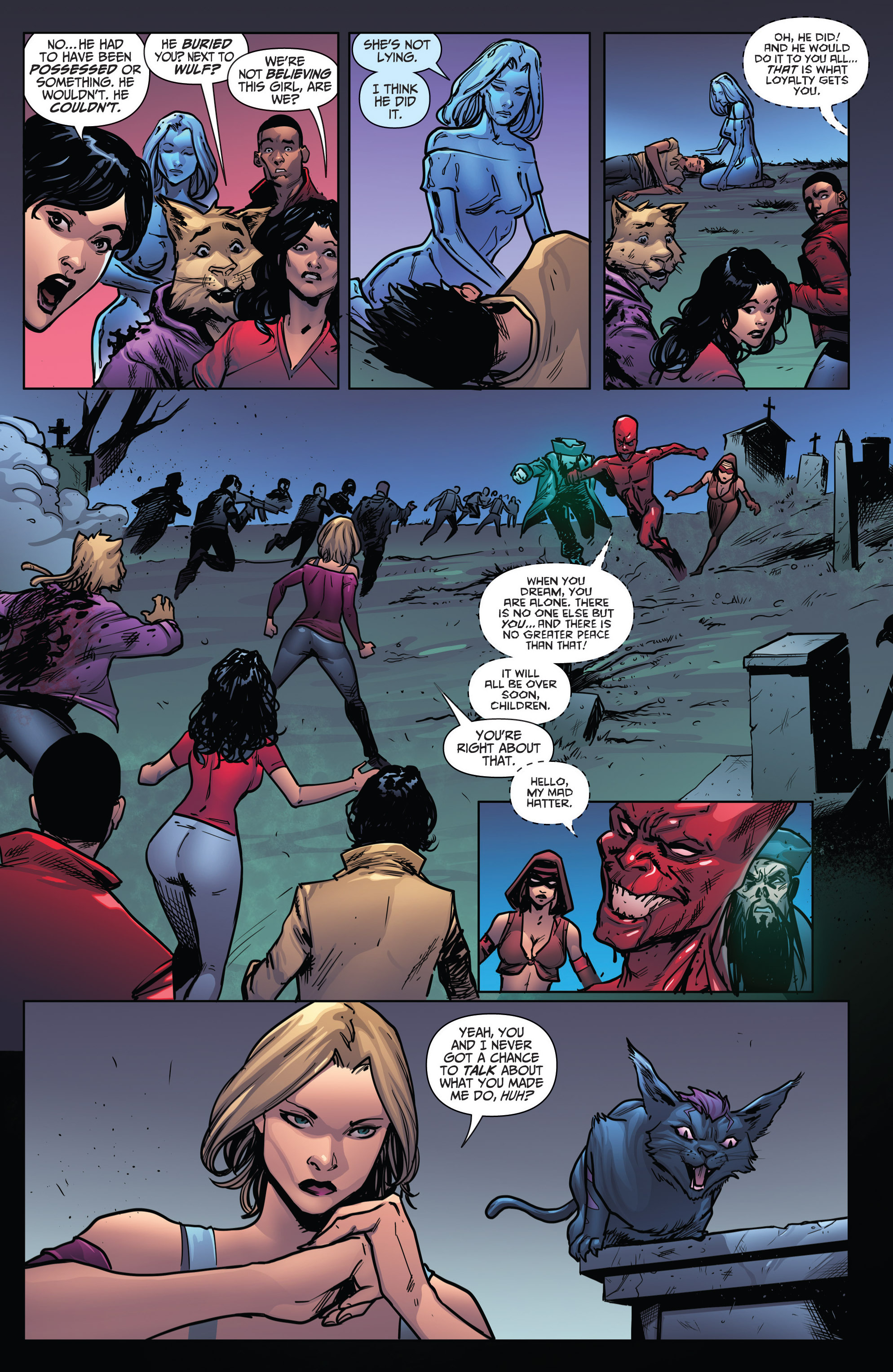 Read online Grimm Fairy Tales: Arcane Acre comic -  Issue # TPB 4 - 174