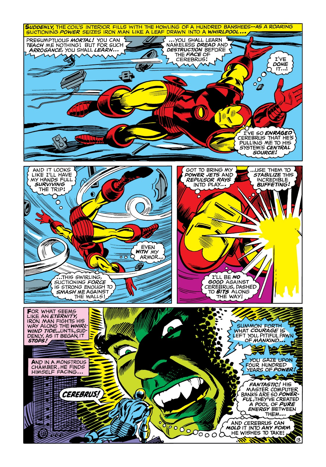 Read online Marvel Masterworks: The Invincible Iron Man comic -  Issue # TPB 5 (Part 1) - 83
