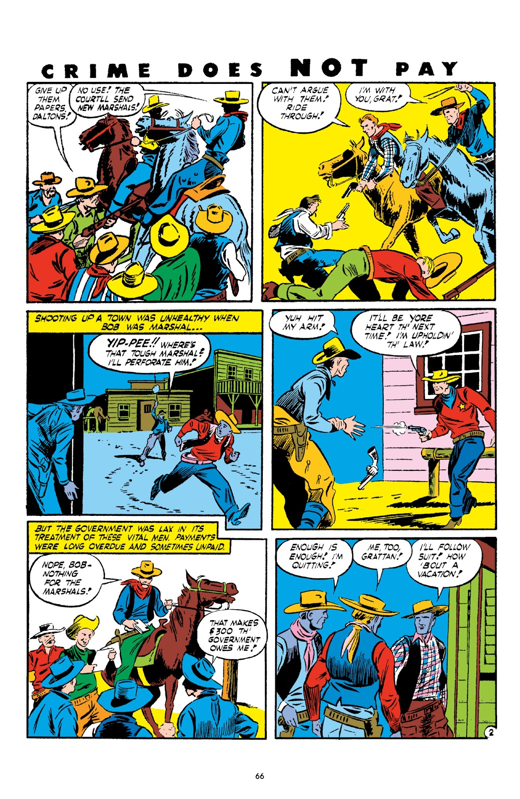 Read online Crime Does Not Pay Archives comic -  Issue # TPB 2 (Part 1) - 66