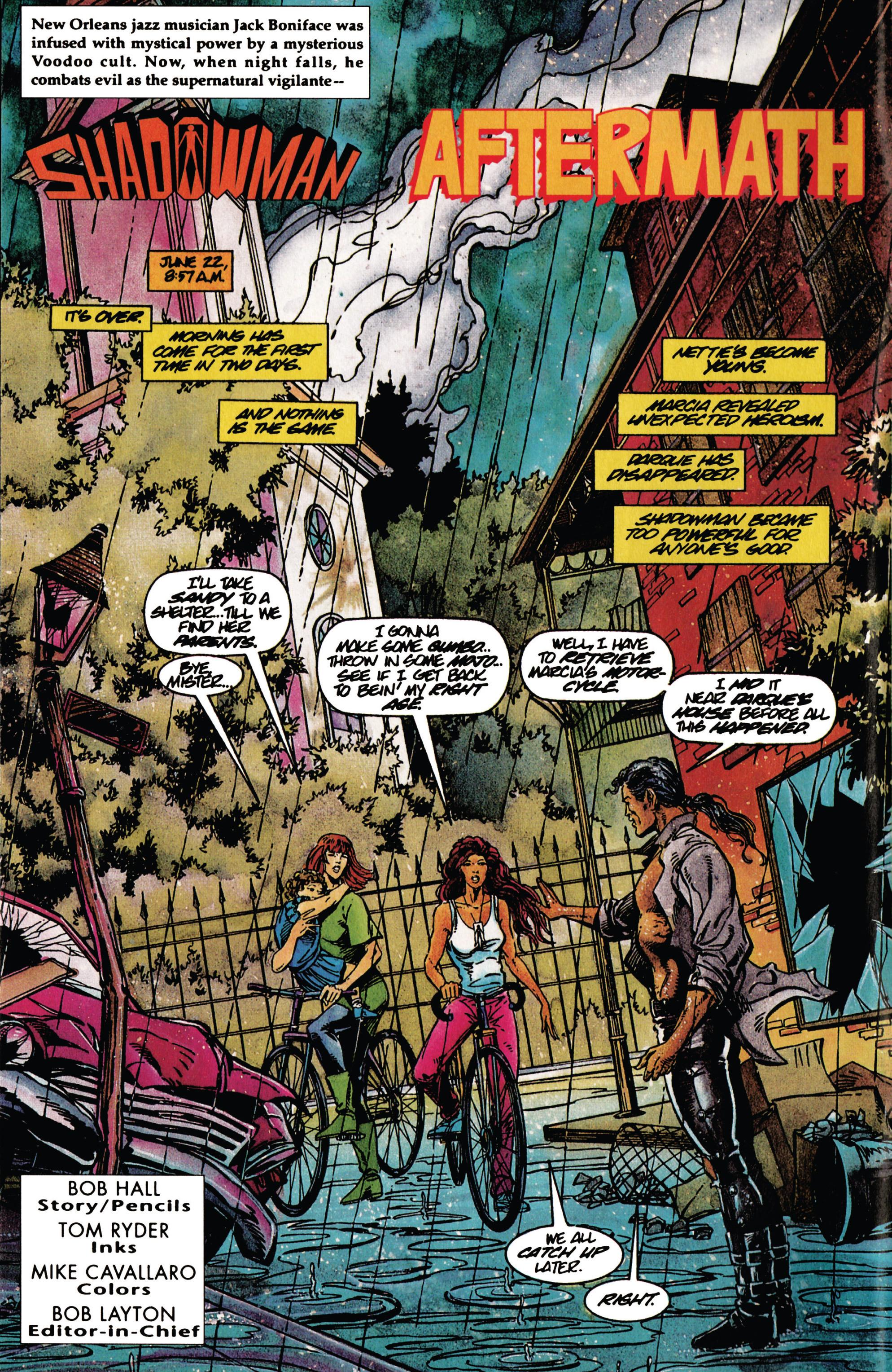 Read online Shadowman (1992) comic -  Issue #30 - 3
