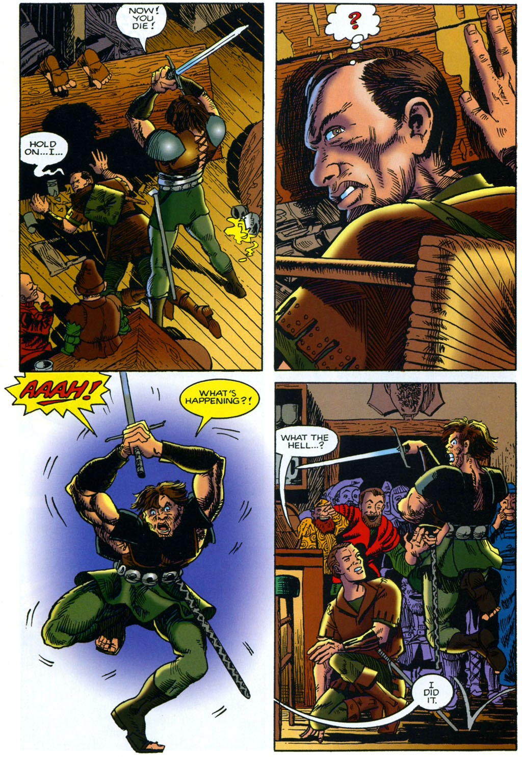 Read online Harsh Realm comic -  Issue #2 - 10