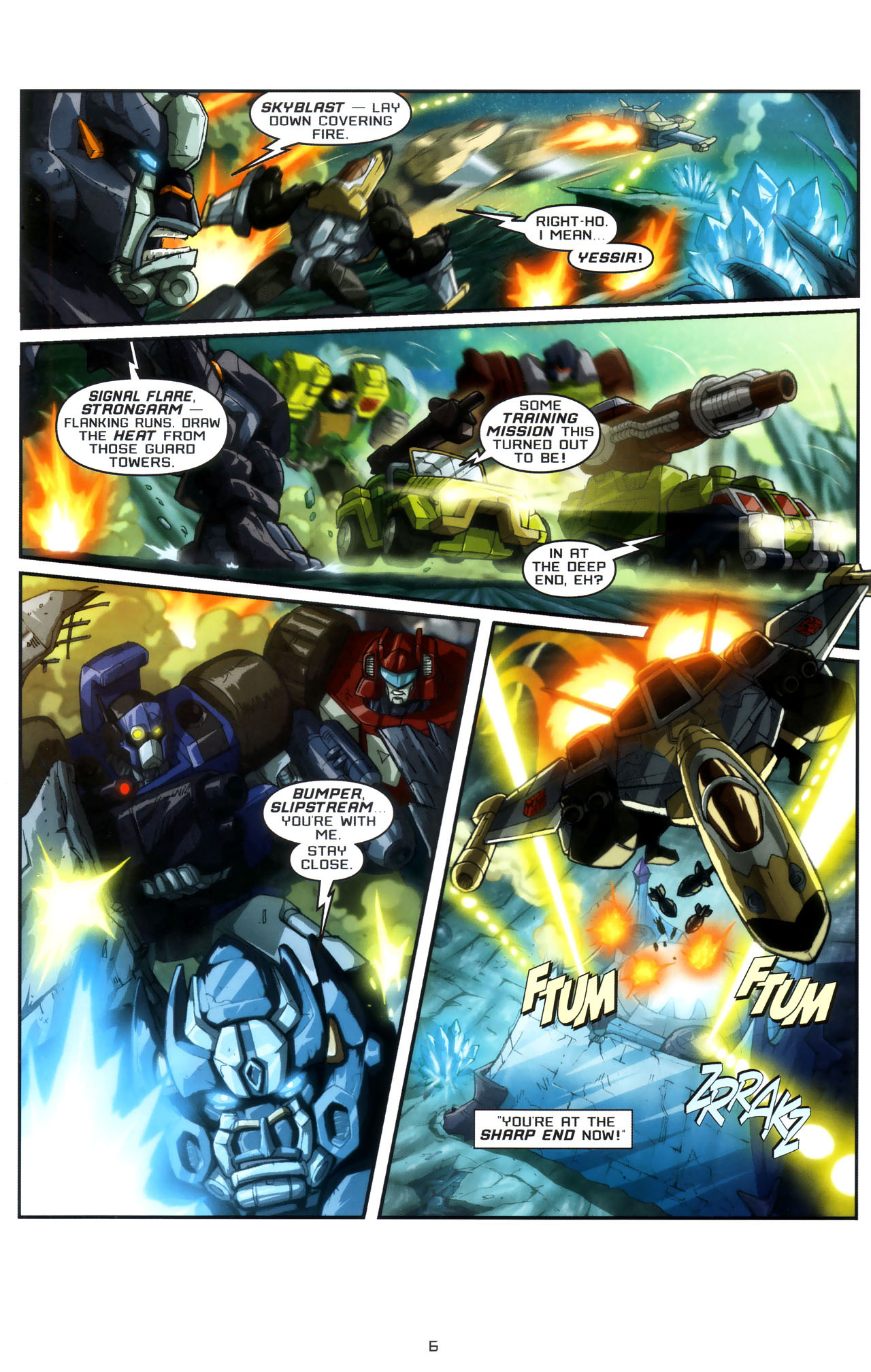 Read online Transformers: Saga of the Allspark comic -  Issue #3 - 9