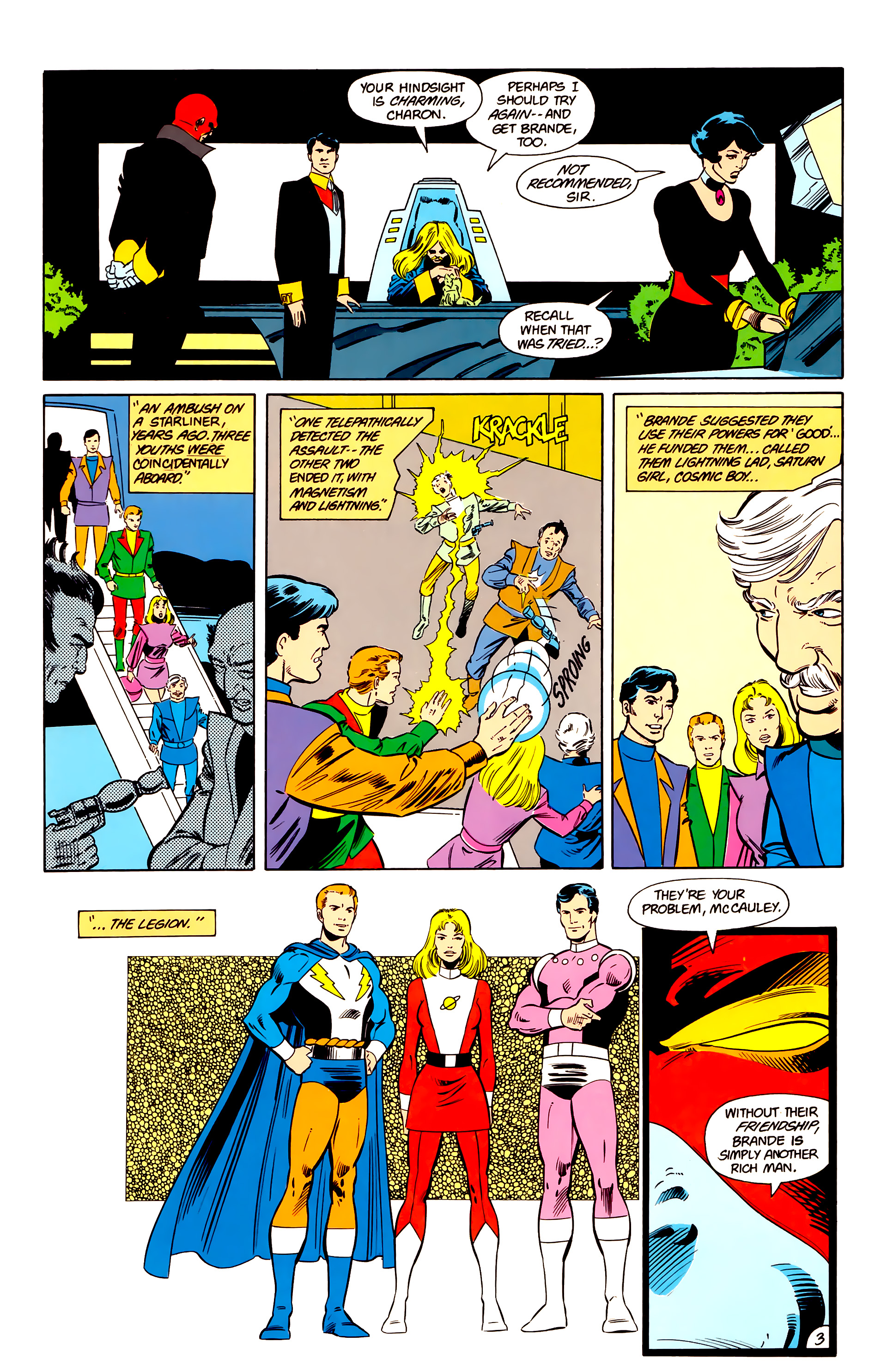 Legion of Super-Heroes (1984) 17 Page 4