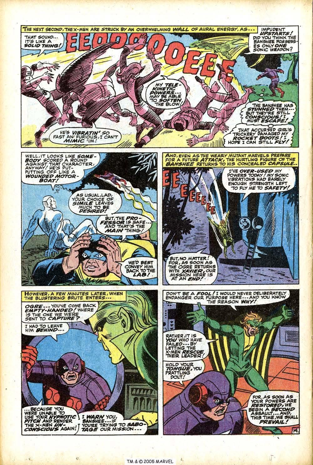 Uncanny X-Men (1963) 76 Page 19