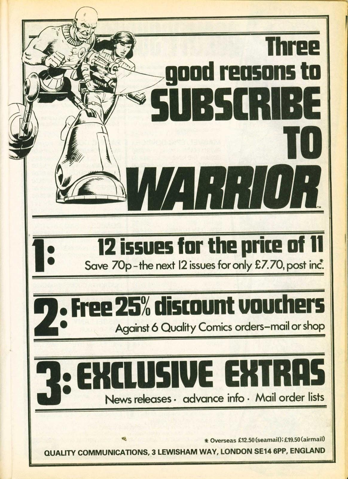 Warrior Issue #21 #22 - English 25
