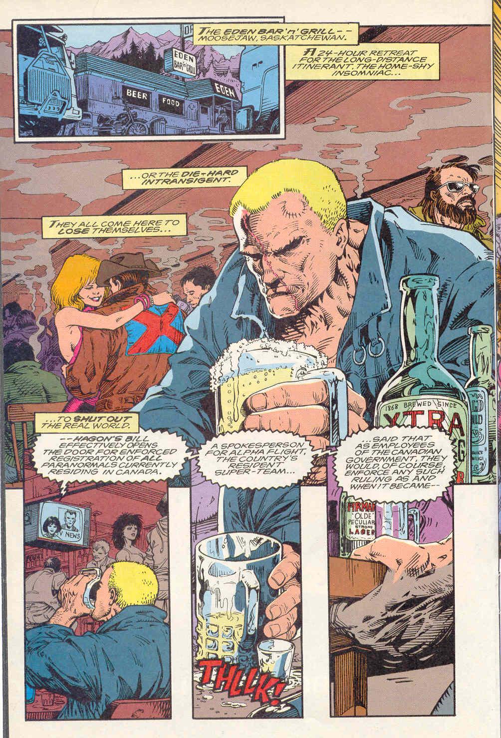 Read online Alpha Flight (1983) comic -  Issue #122 - 18