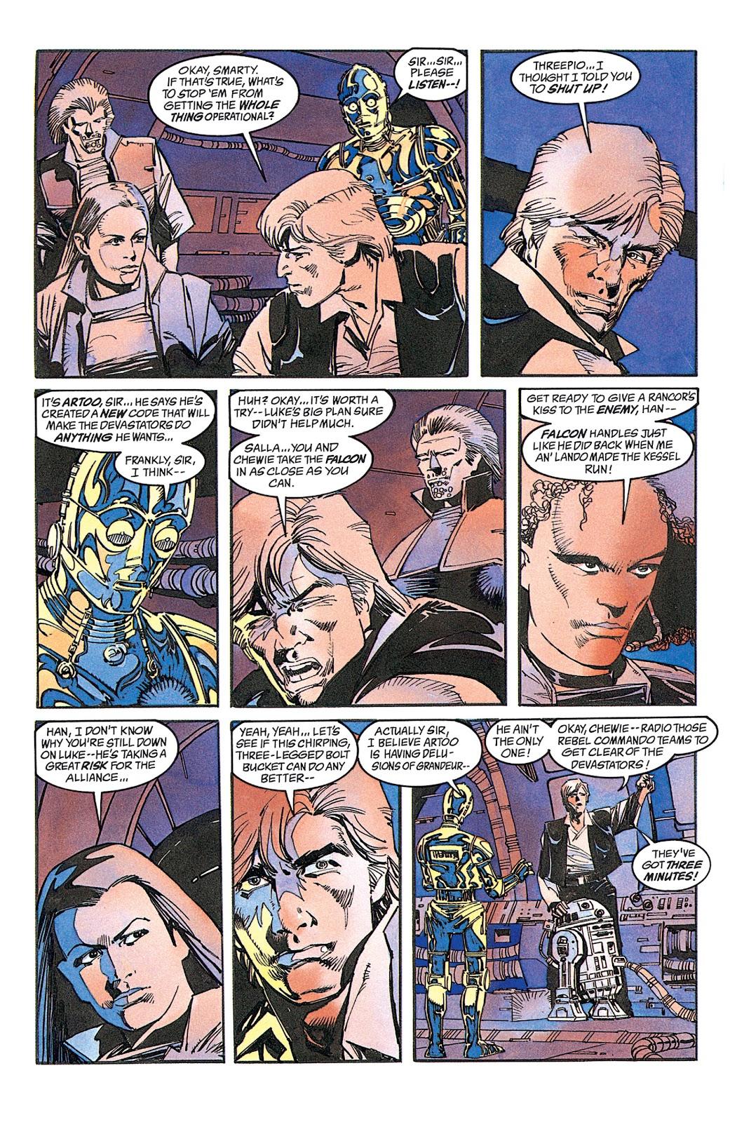 Read online Star Wars: Dark Empire Trilogy comic -  Issue # TPB (Part 2) - 38