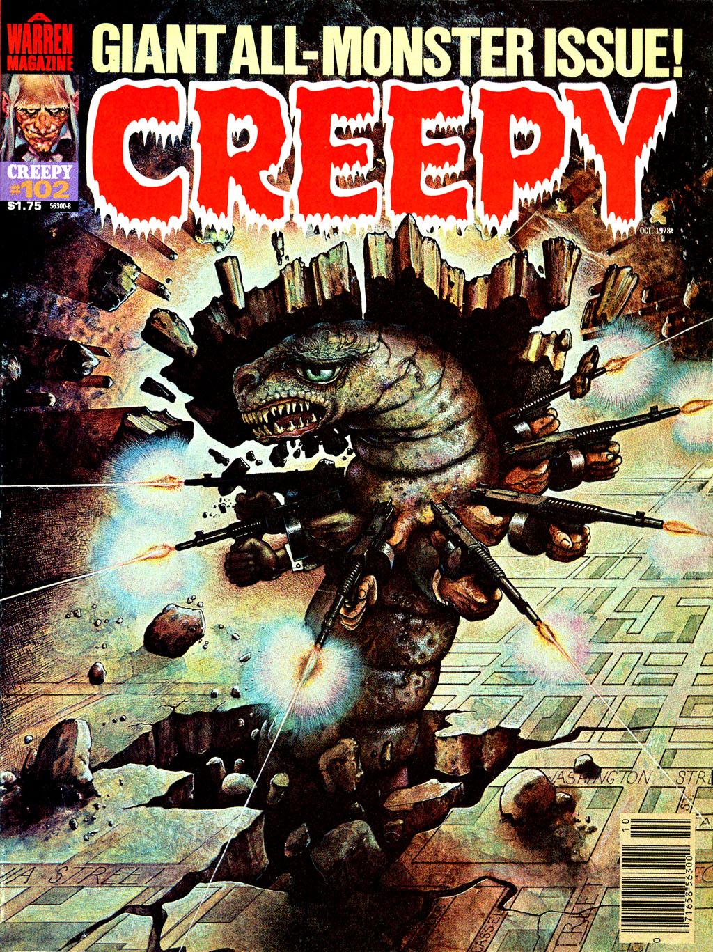 Creepy (1964) 102 Page 1