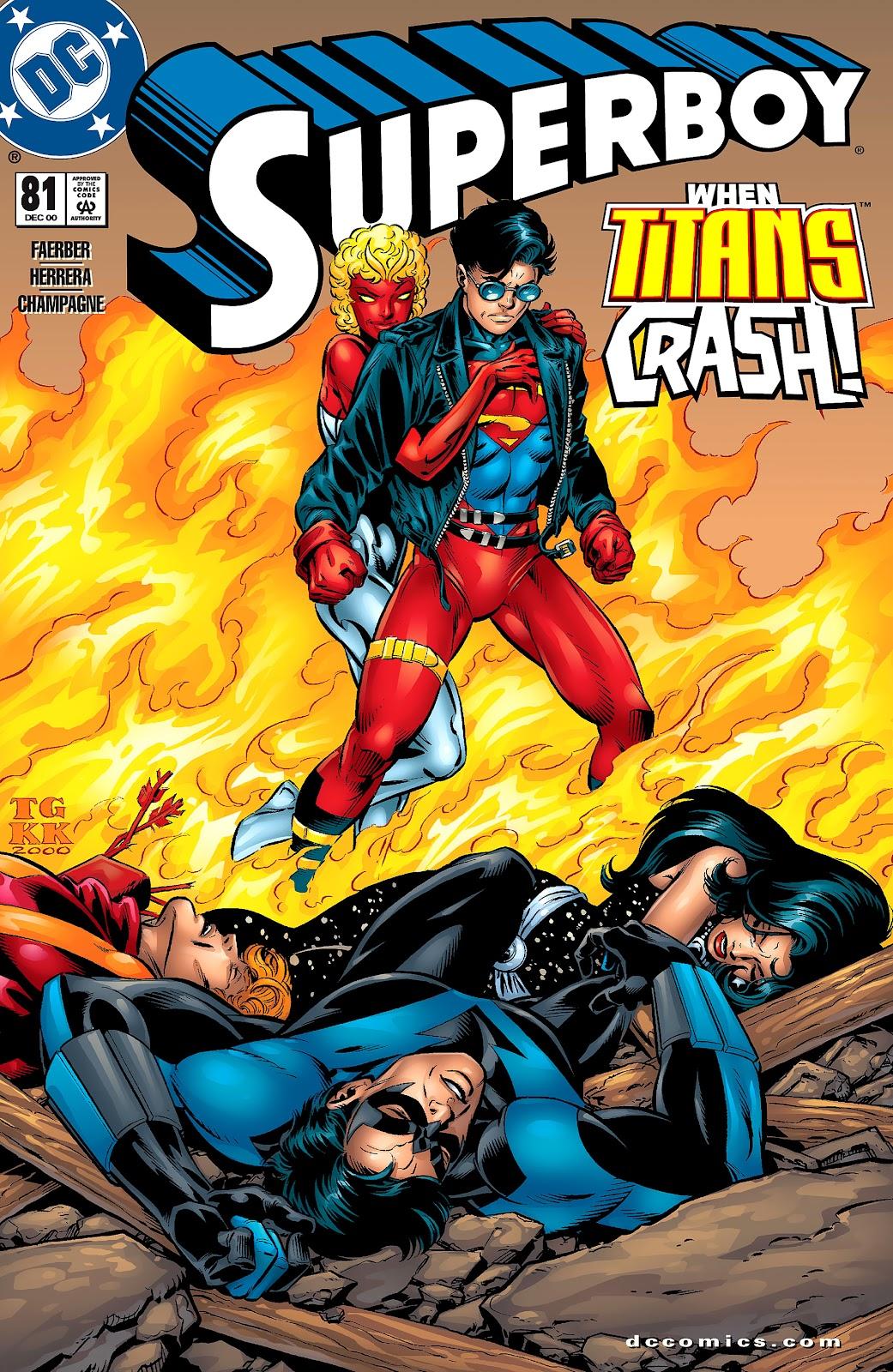 Superboy (1994) 81 Page 1