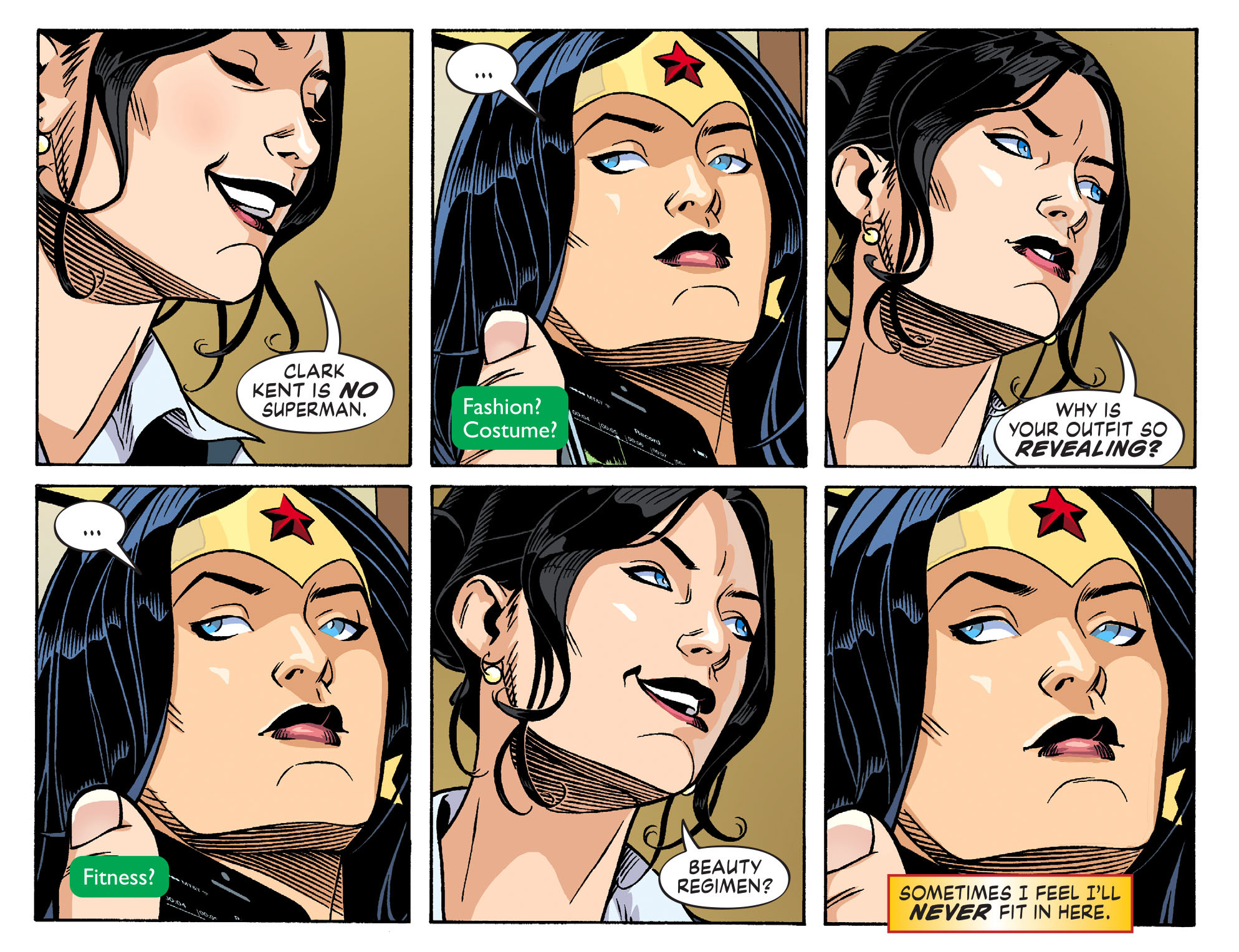 Read online Sensation Comics Featuring Wonder Woman comic -  Issue #26 - 6