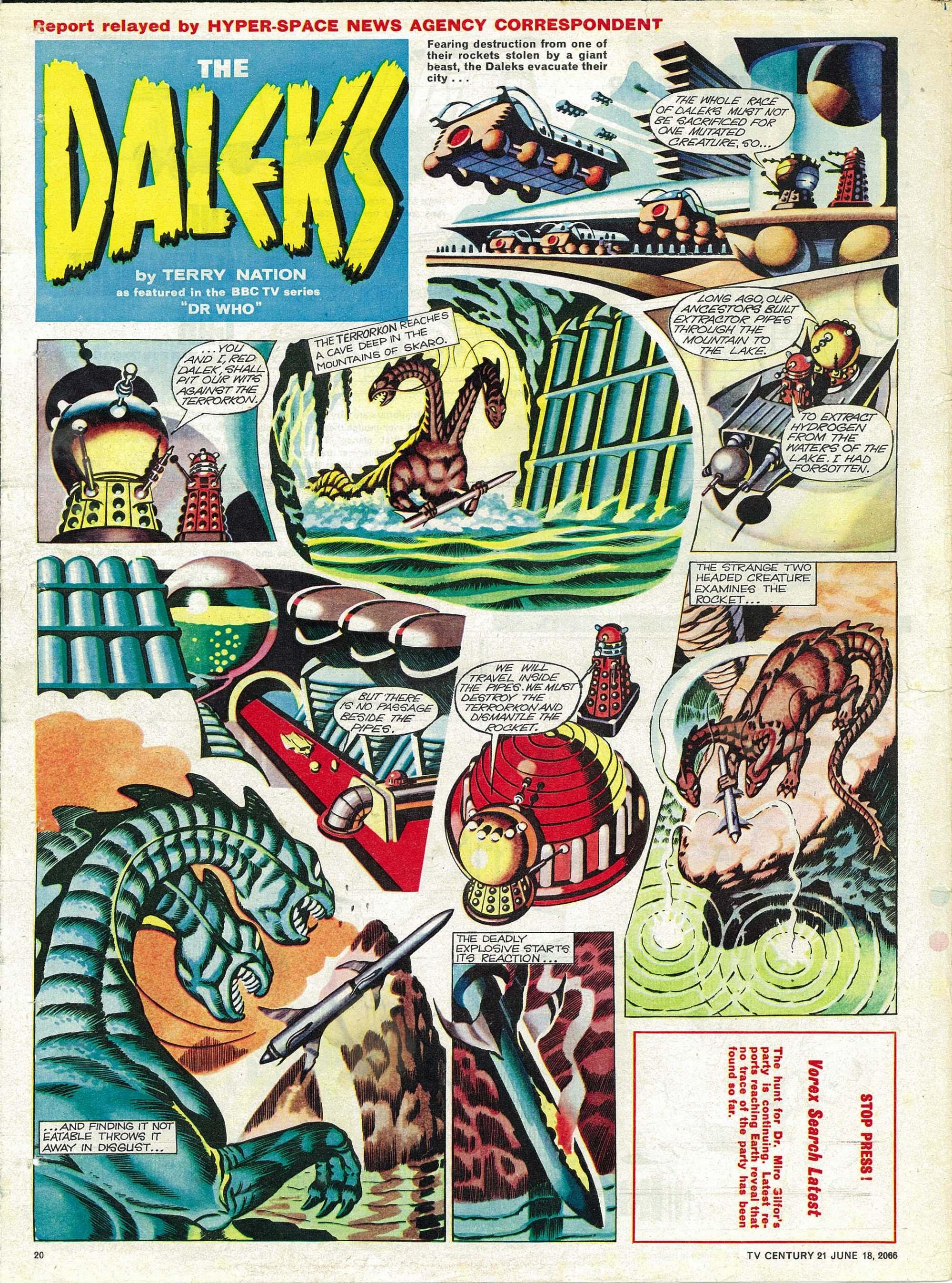 Read online TV Century 21 (TV 21) comic -  Issue #74 - 19