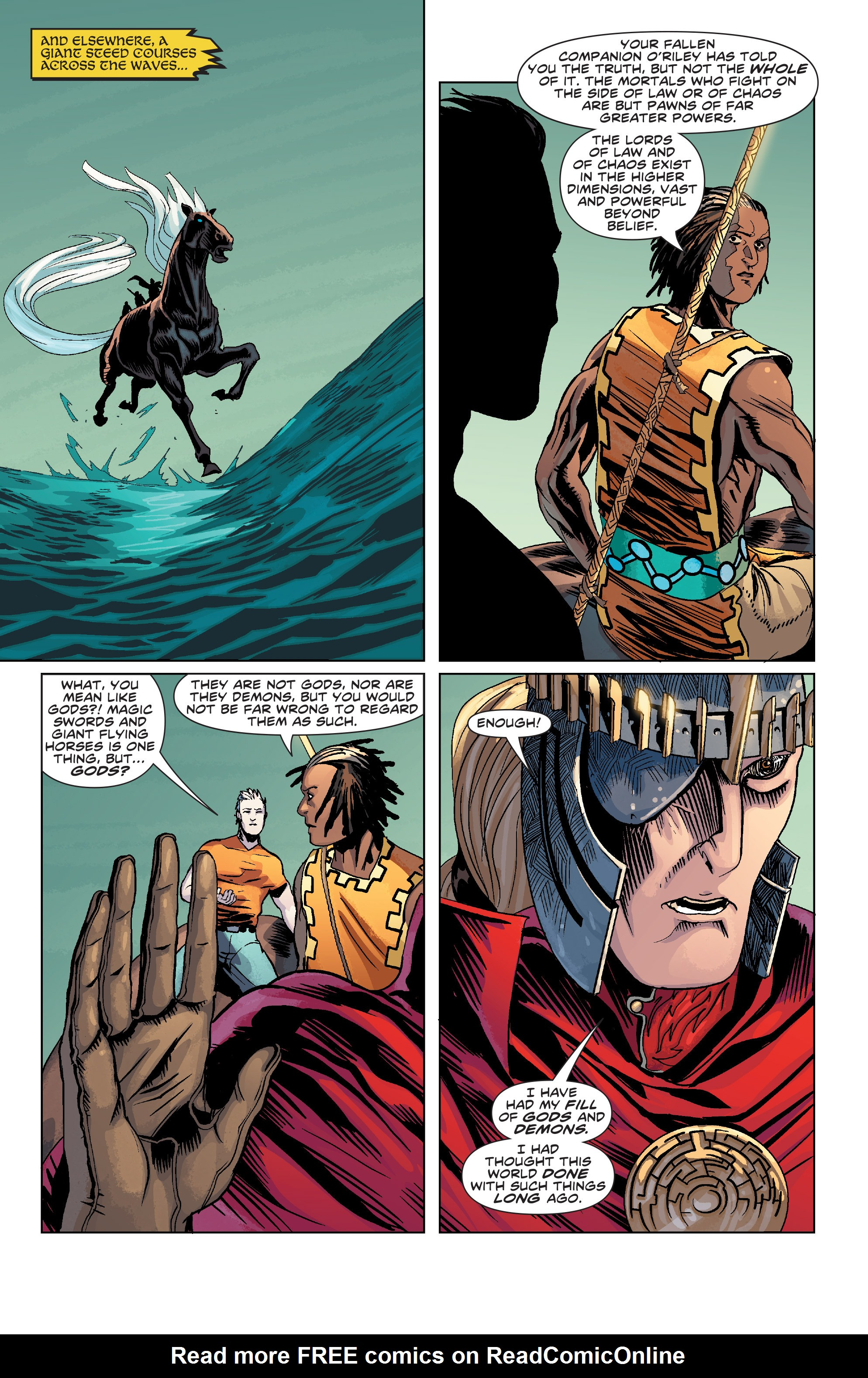 Read online Elric: The Balance Lost comic -  Issue # TPB 2 - 42