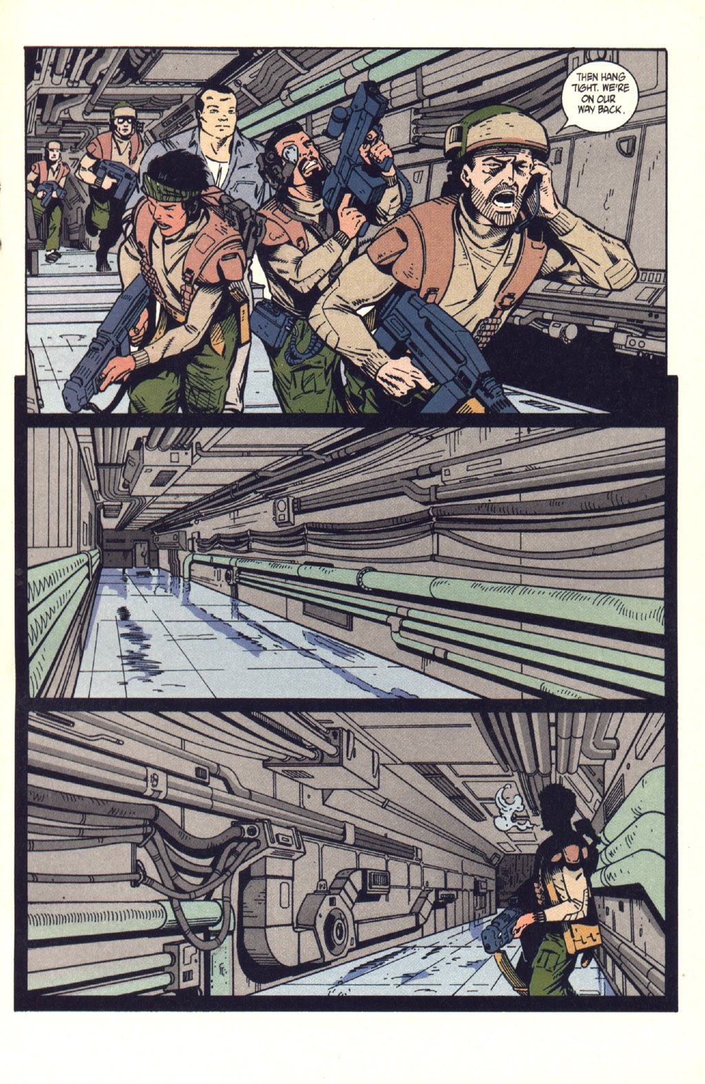 Read online Aliens: Colonial Marines comic -  Issue #9 - 14