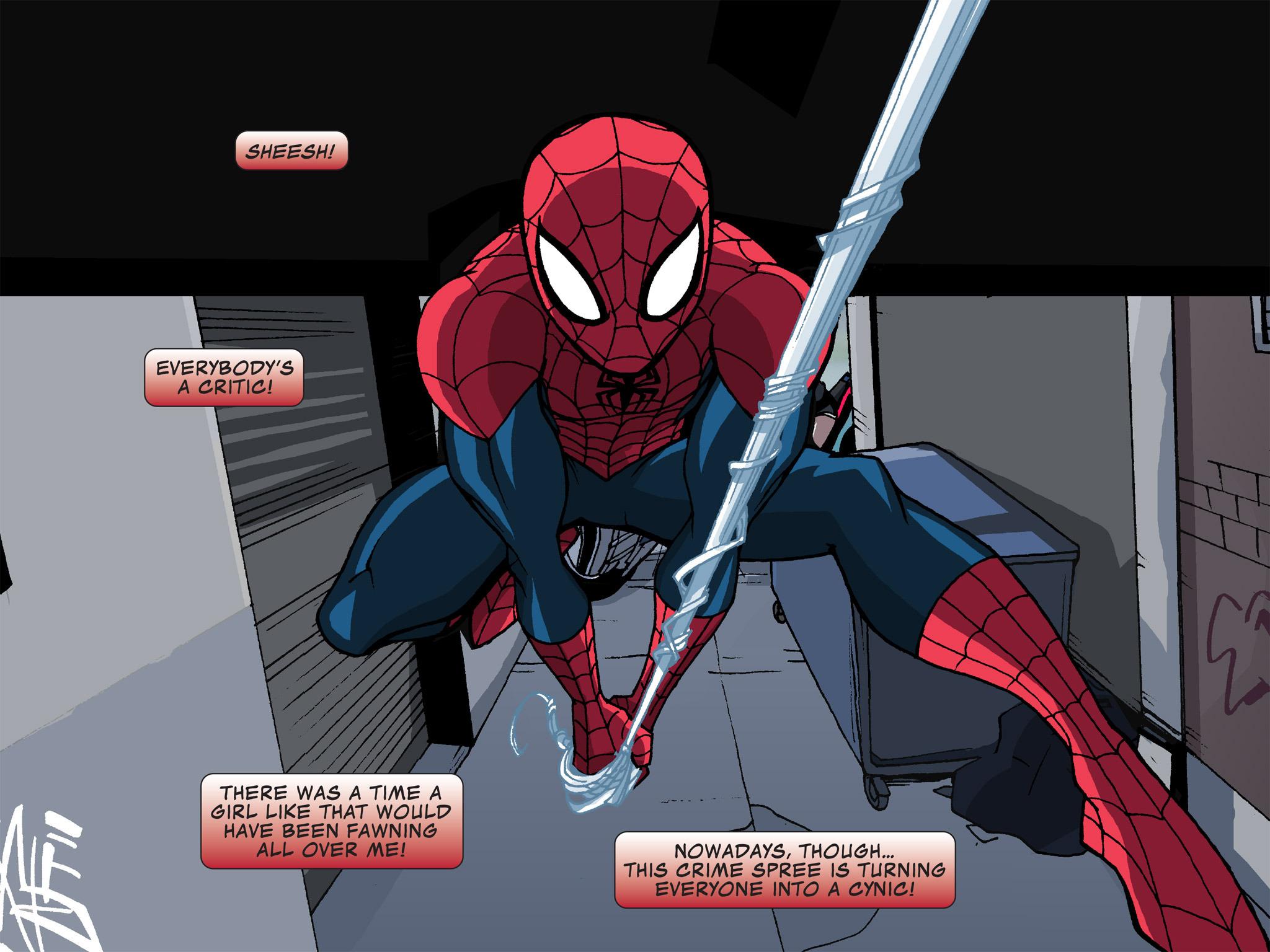 Read online Ultimate Spider-Man (Infinite Comics) (2015) comic -  Issue #12 - 25