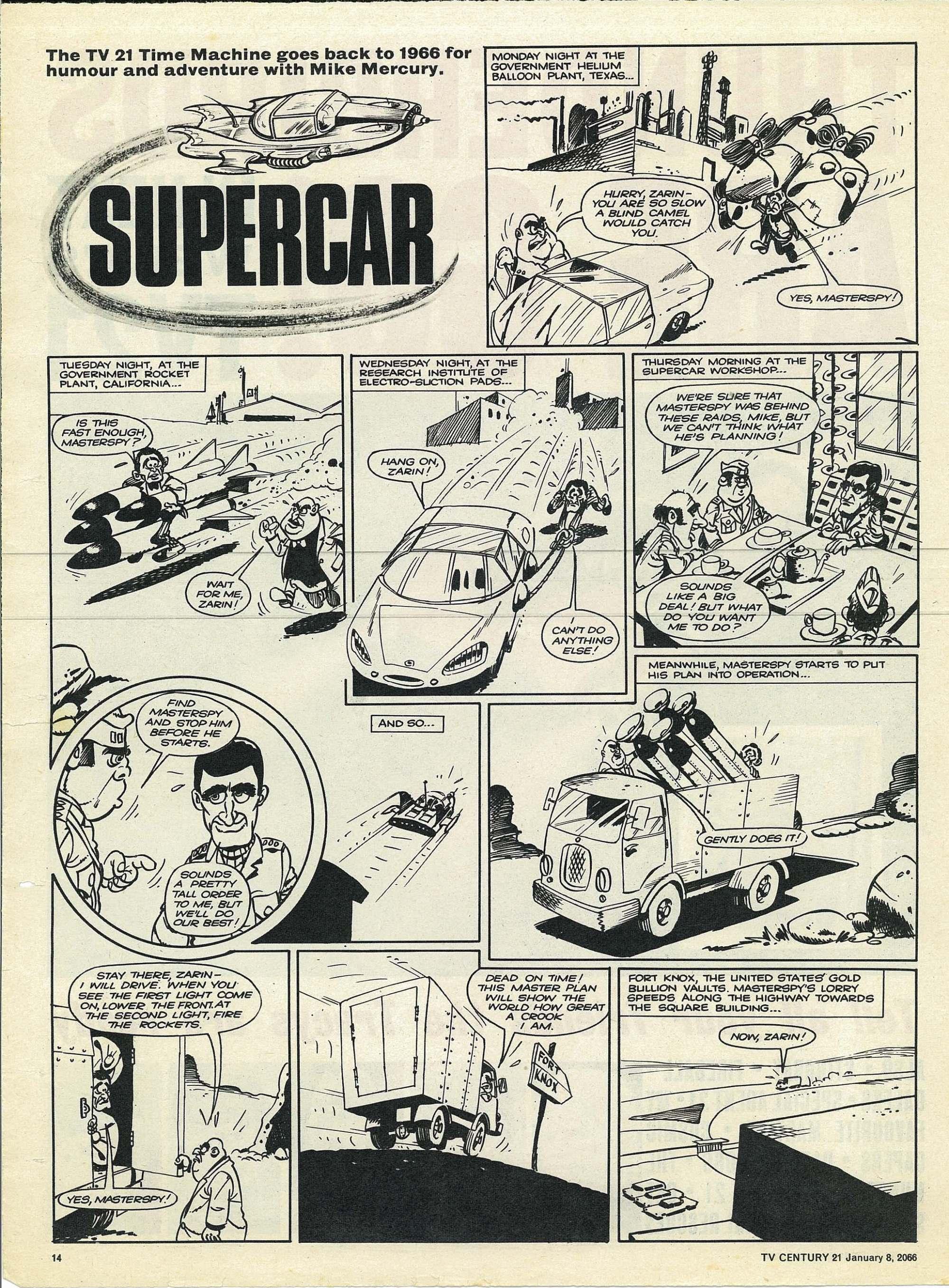 Read online TV Century 21 (TV 21) comic -  Issue #51 - 13