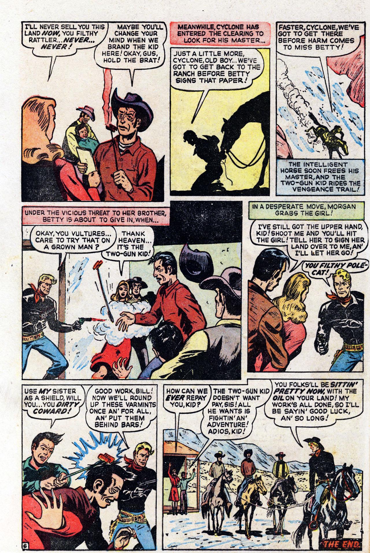 Read online Two-Gun Kid comic -  Issue #6 - 32