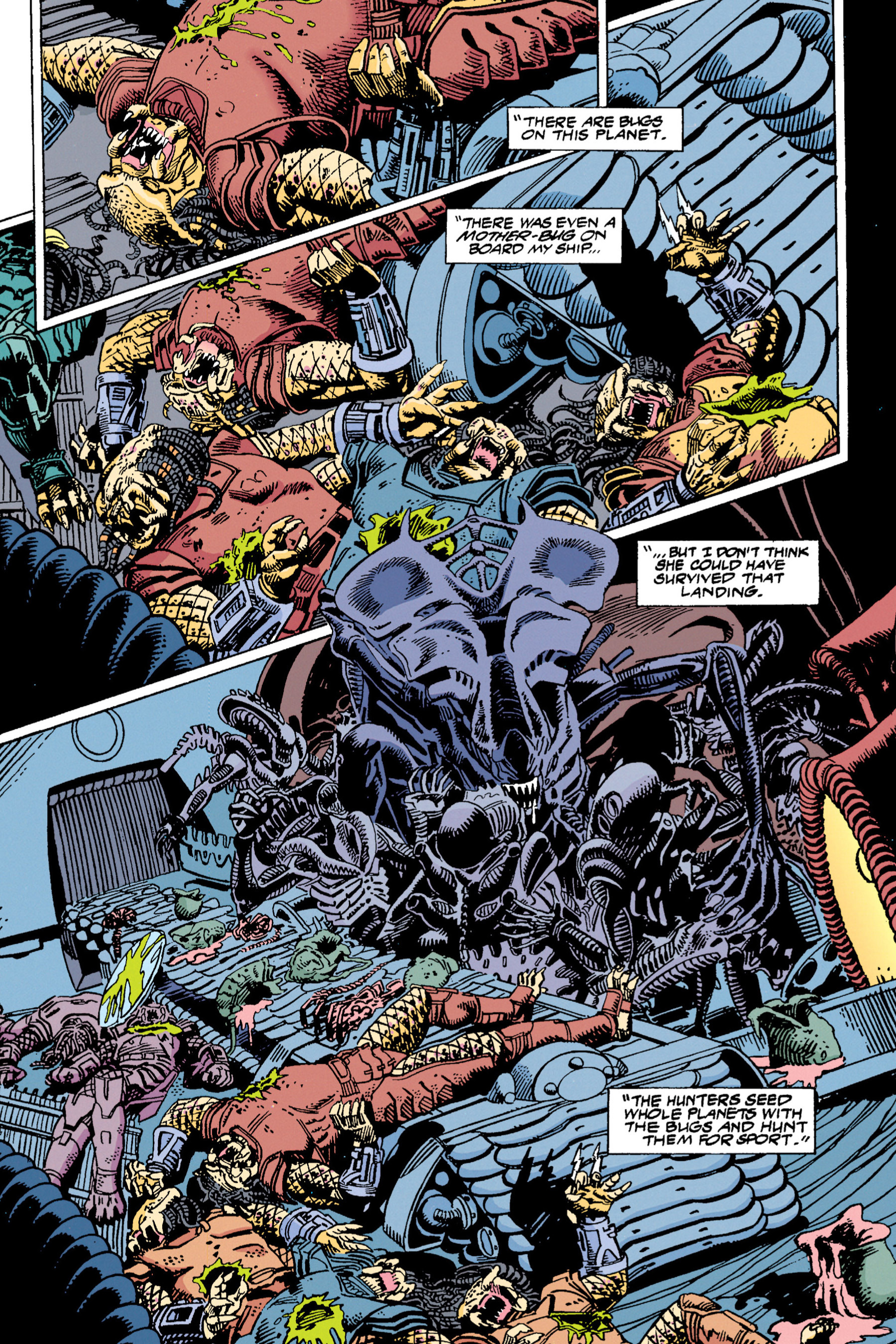Read online Aliens vs. Predator Omnibus comic -  Issue # _TPB 1 Part 4 - 15