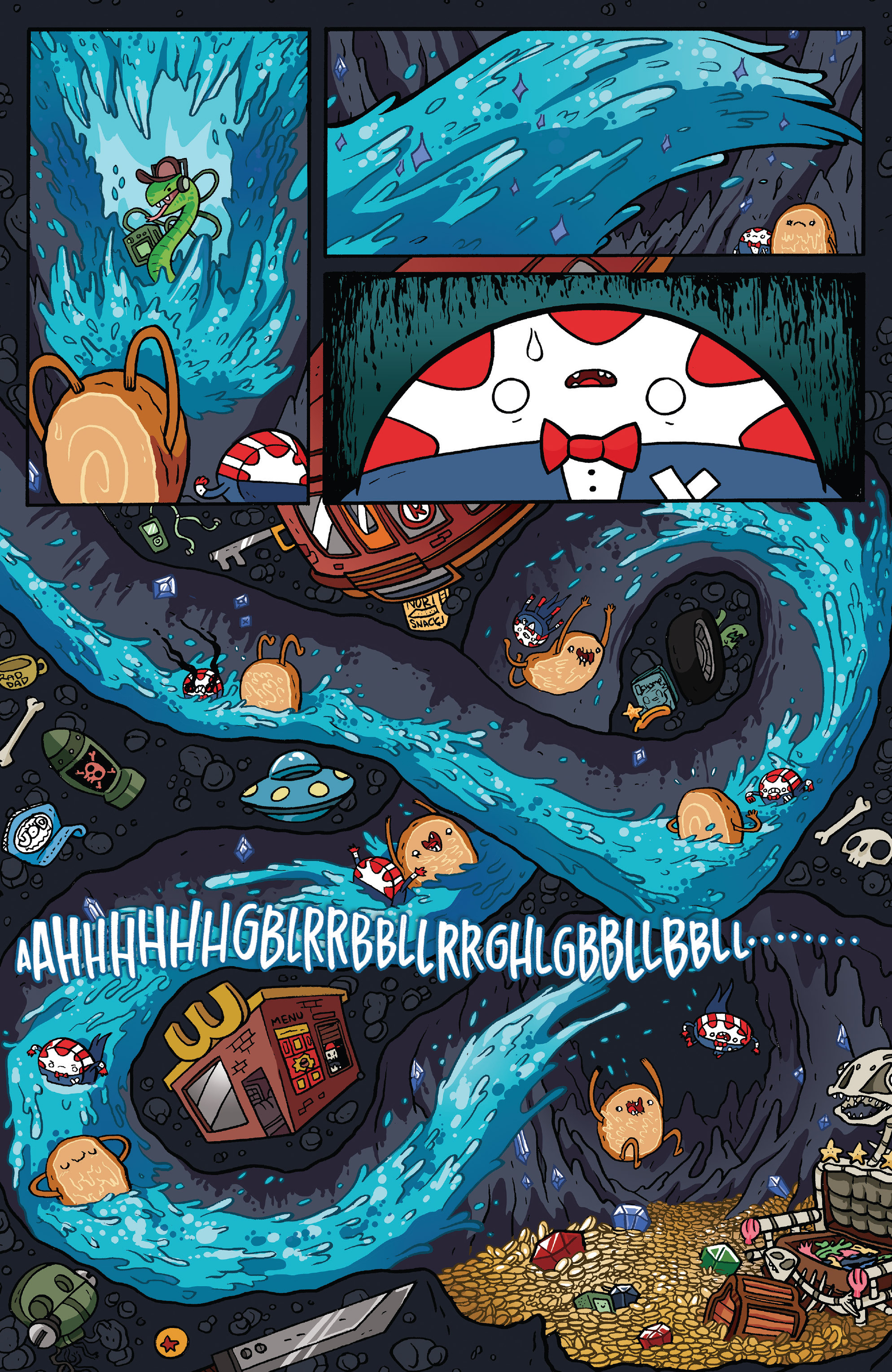 Read online Adventure Time: Candy Capers comic -  Issue #5 - 13