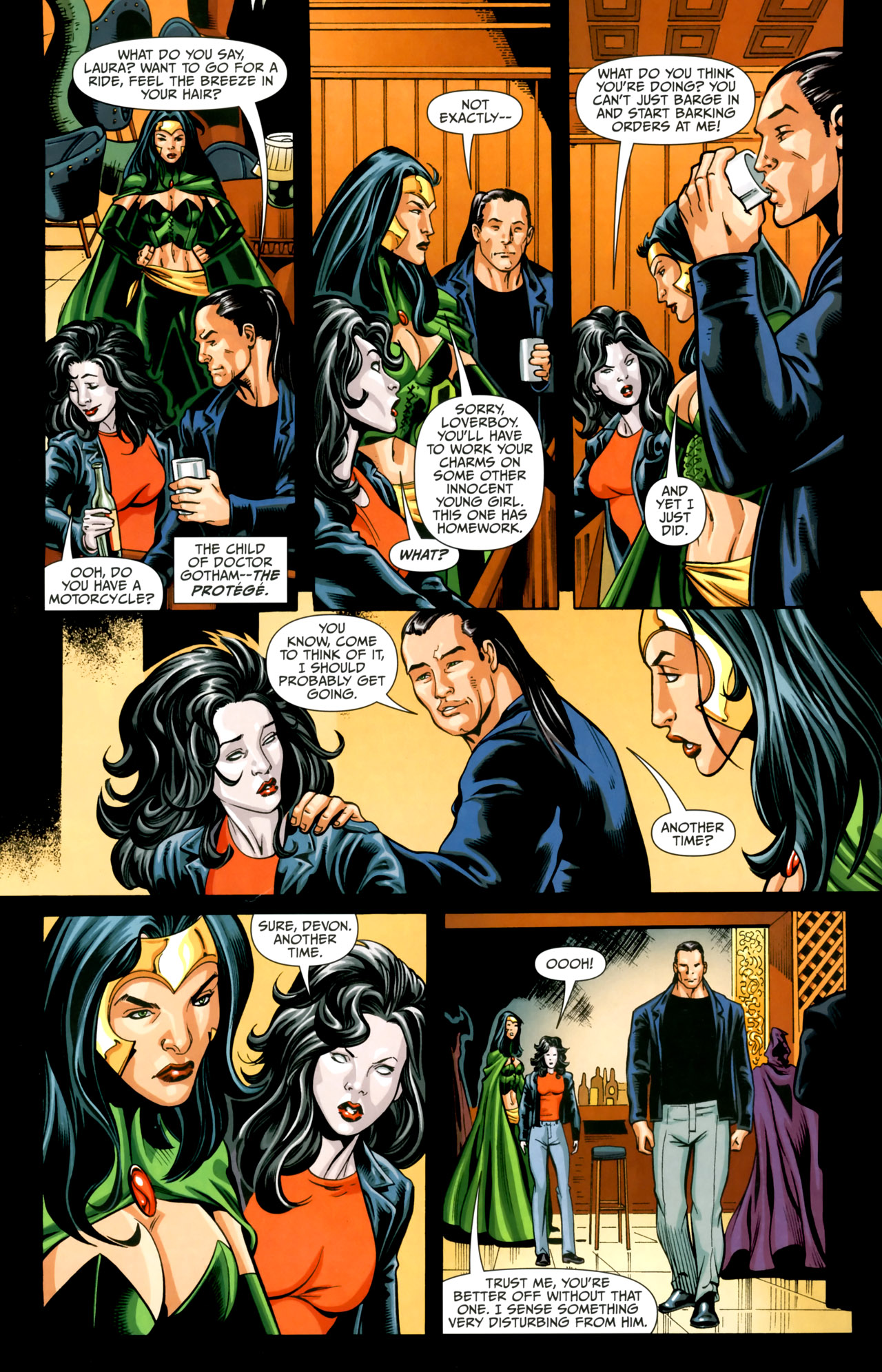 Read online Shadowpact comic -  Issue #18 - 3