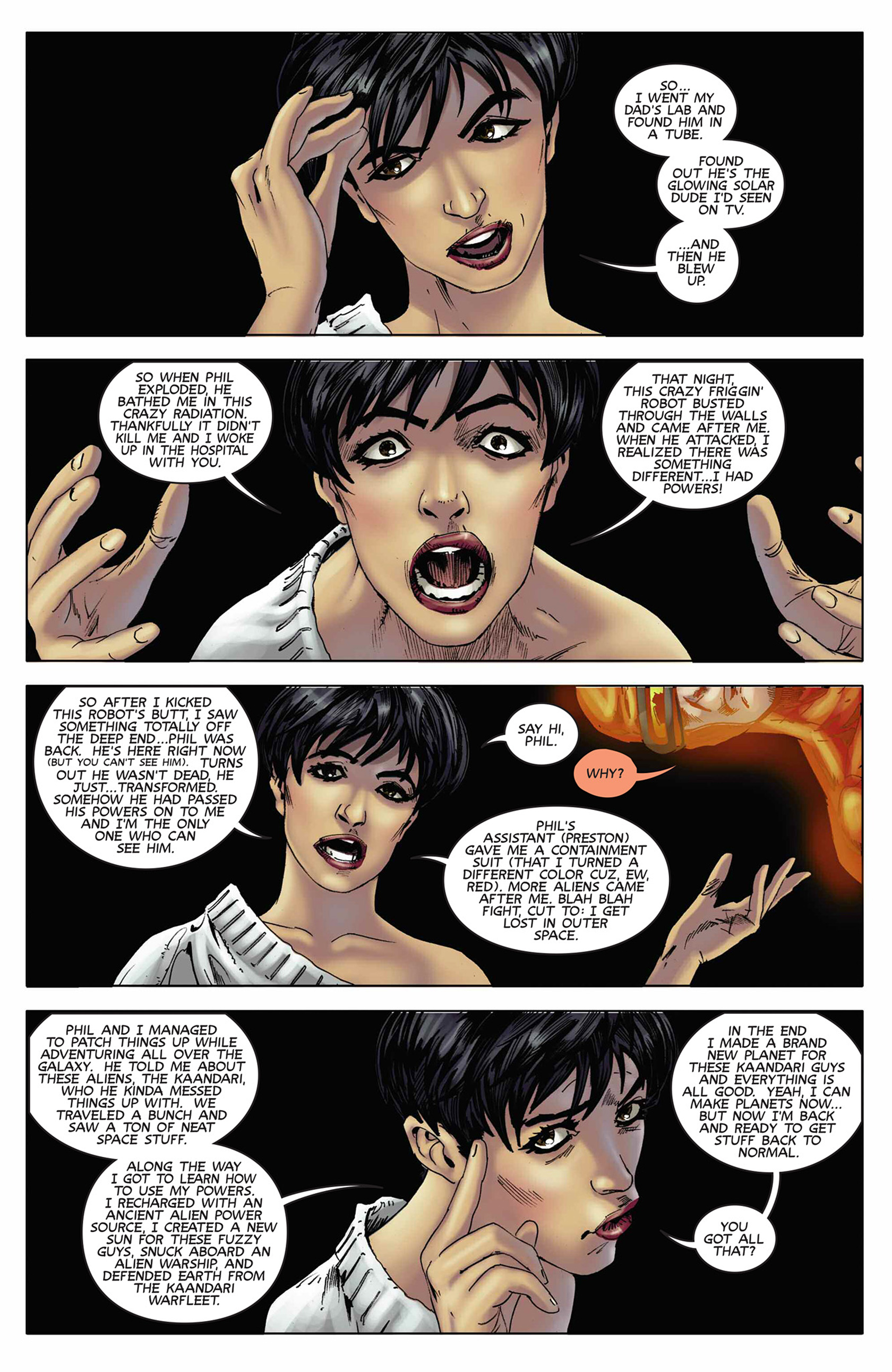 Read online Solar: Man of the Atom (2014) comic -  Issue #9 - 4