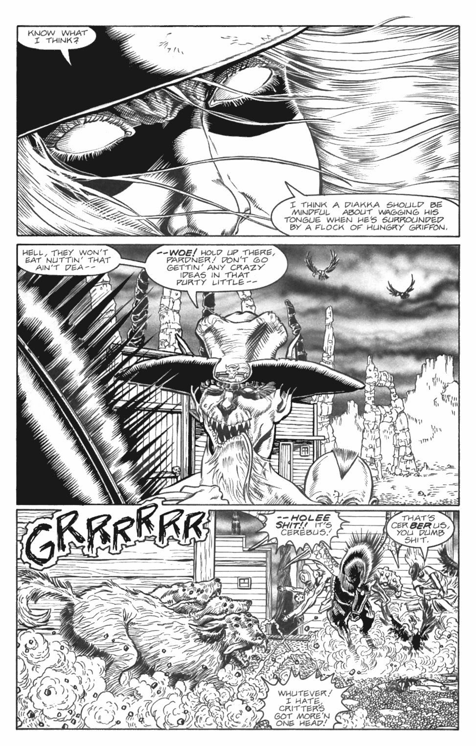 Read online Gunfighters in Hell comic -  Issue #4 - 10