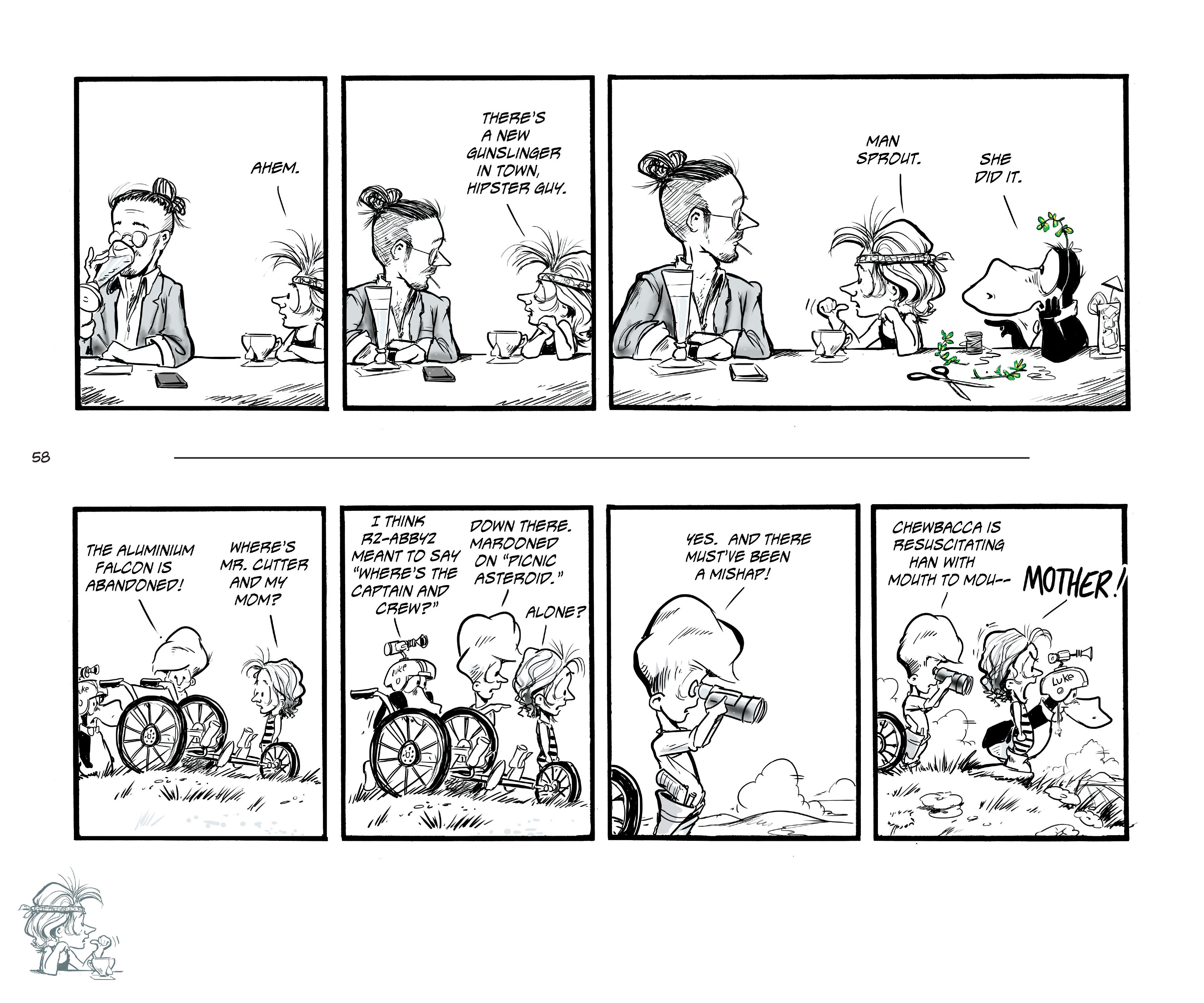 Read online Bloom County Episode XI: A New Hope comic -  Issue # Full - 60