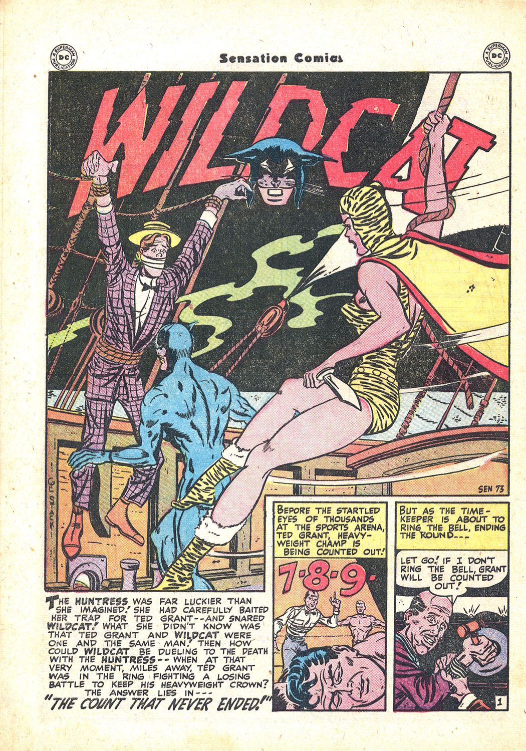 Read online Sensation (Mystery) Comics comic -  Issue #71 - 42