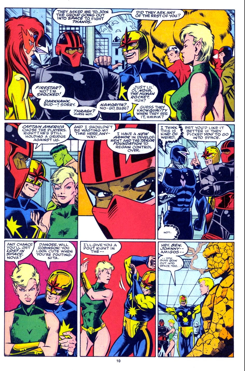 The New Warriors Issue #27 #31 - English 9
